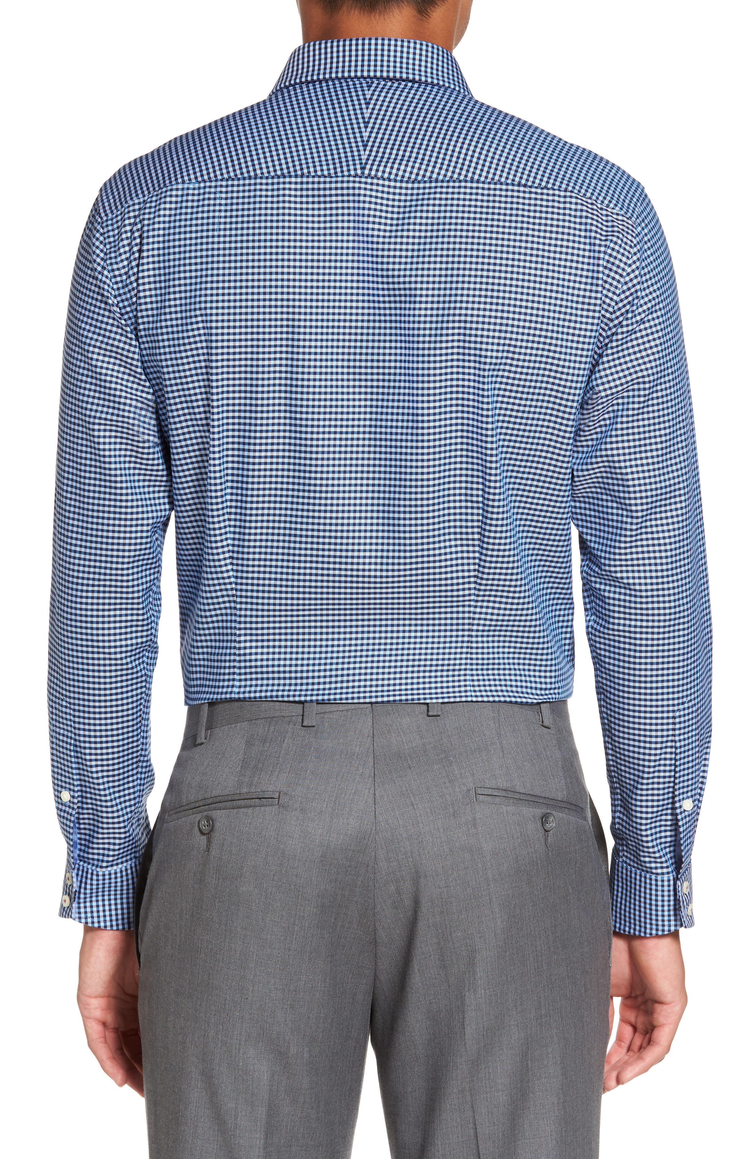 Endurance Sterling Trim Fit Dress Shirt,                             Alternate thumbnail 3, color,