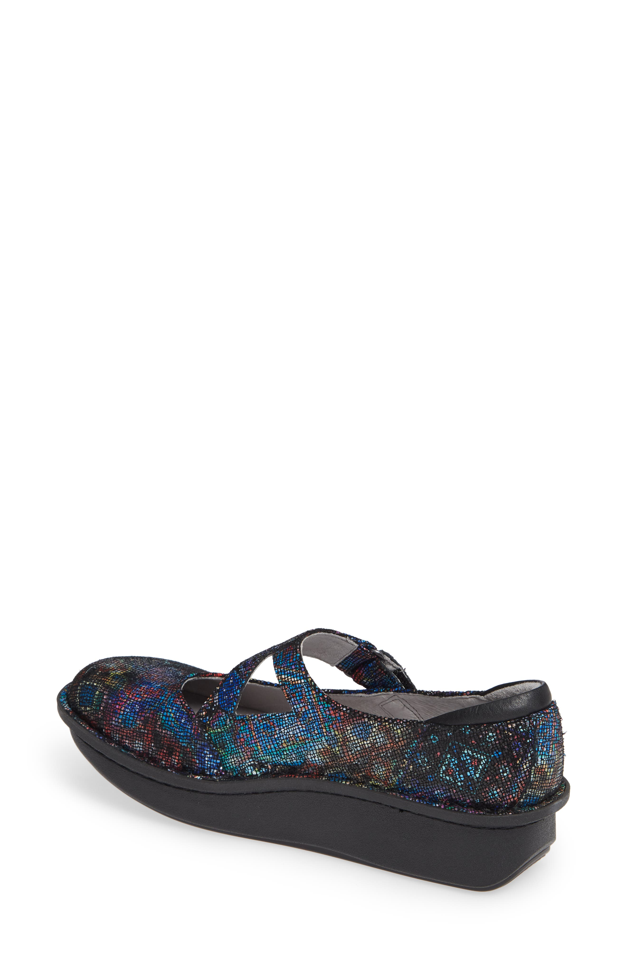 ALEGRIA,                             'Dayna' Slip-On,                             Alternate thumbnail 2, color,                             BEAUTY BLUR LEATHER
