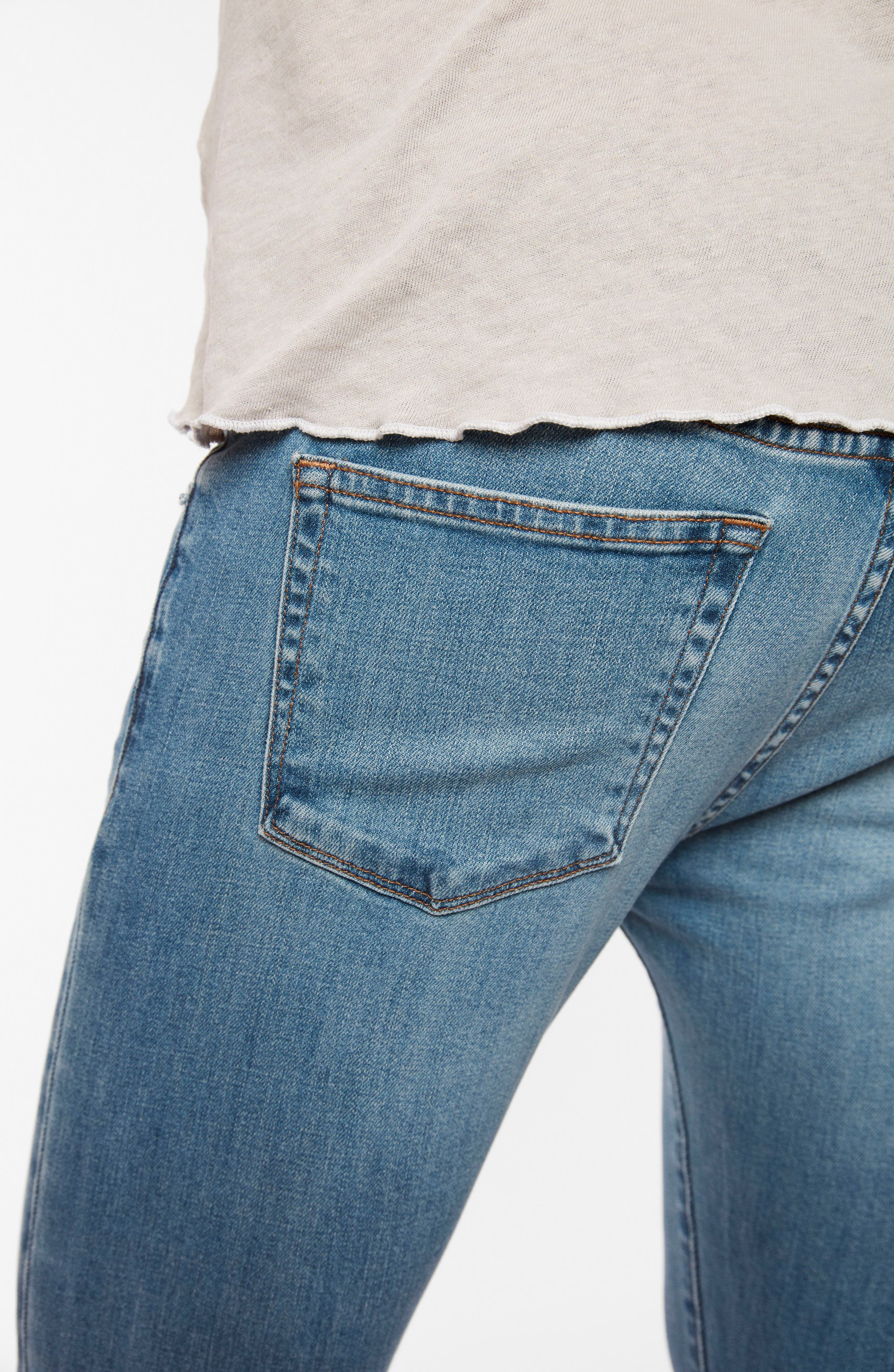 Skinny Fit Jeans,                             Alternate thumbnail 5, color,                             409