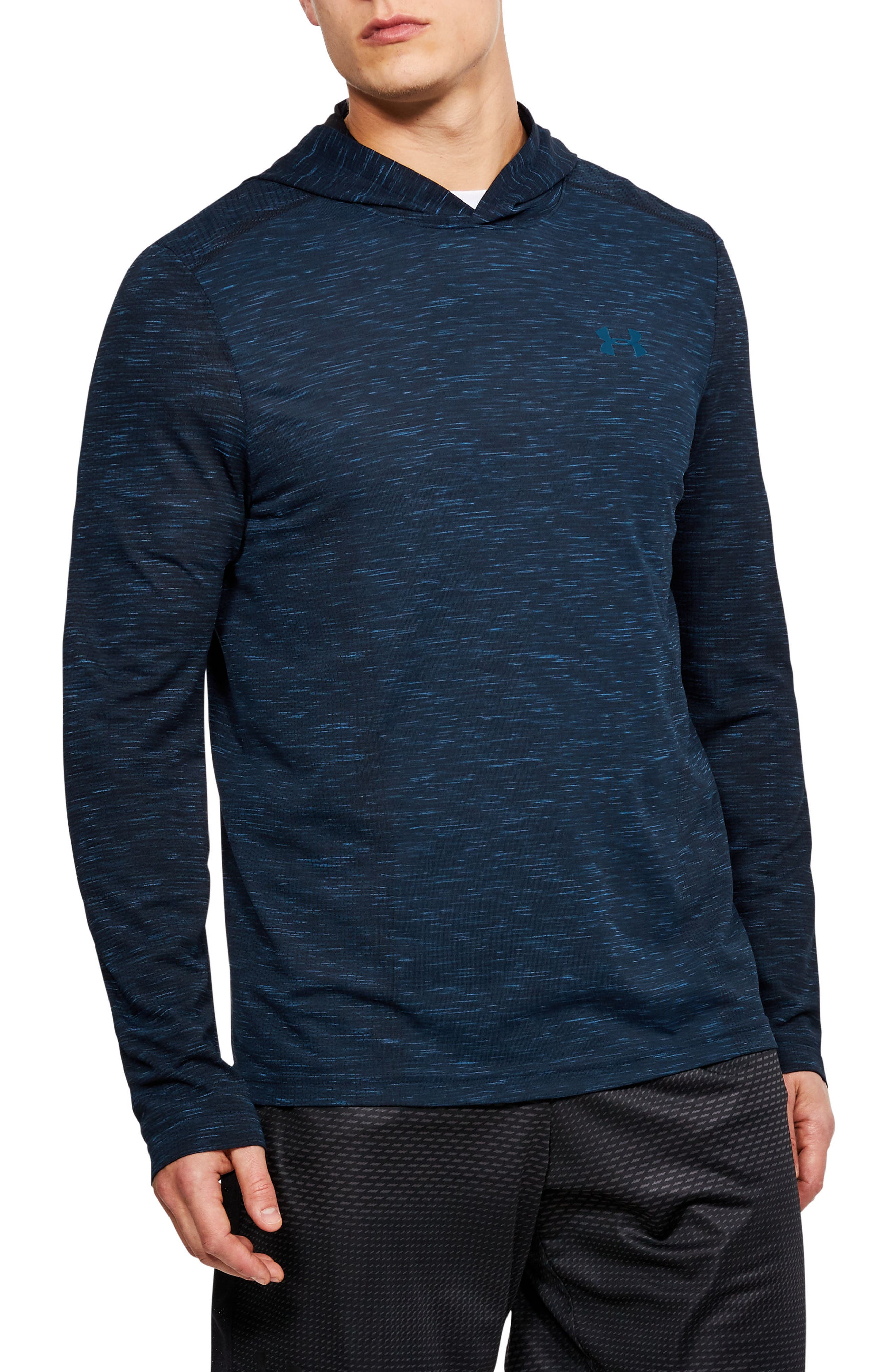 Threadbone Fitted Seamless Hoodie,                             Main thumbnail 3, color,