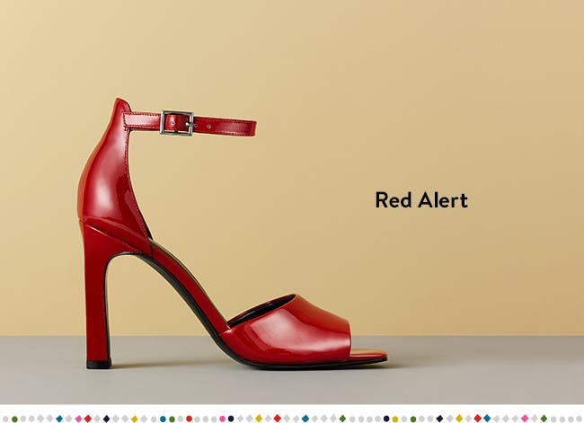 Red shoe gifts.