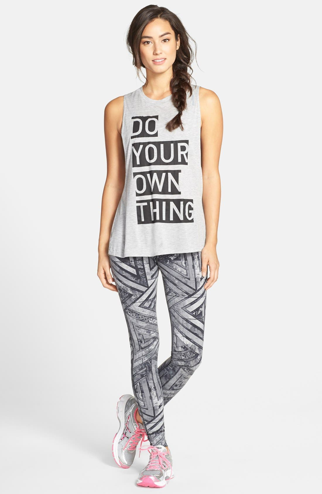 Graphic Muscle Tee,                             Alternate thumbnail 4, color,