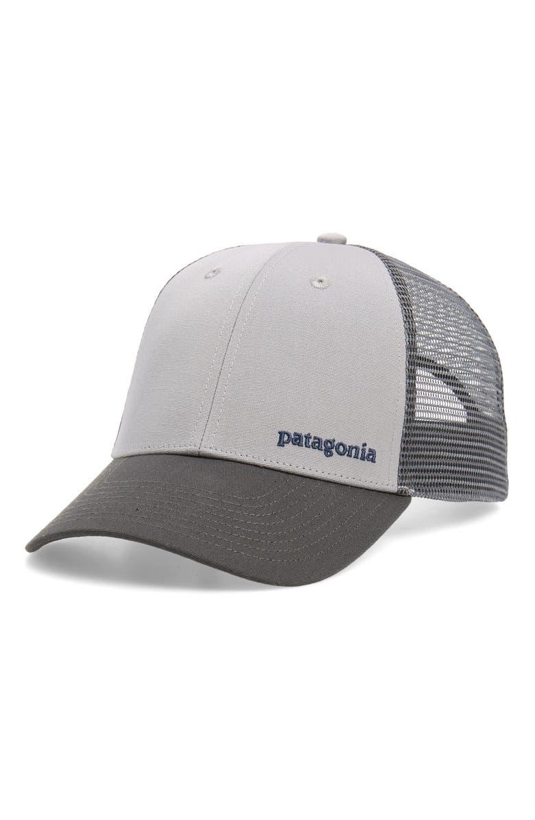 f899c14e6f9 Patagonia Text Logo Trucker Hat