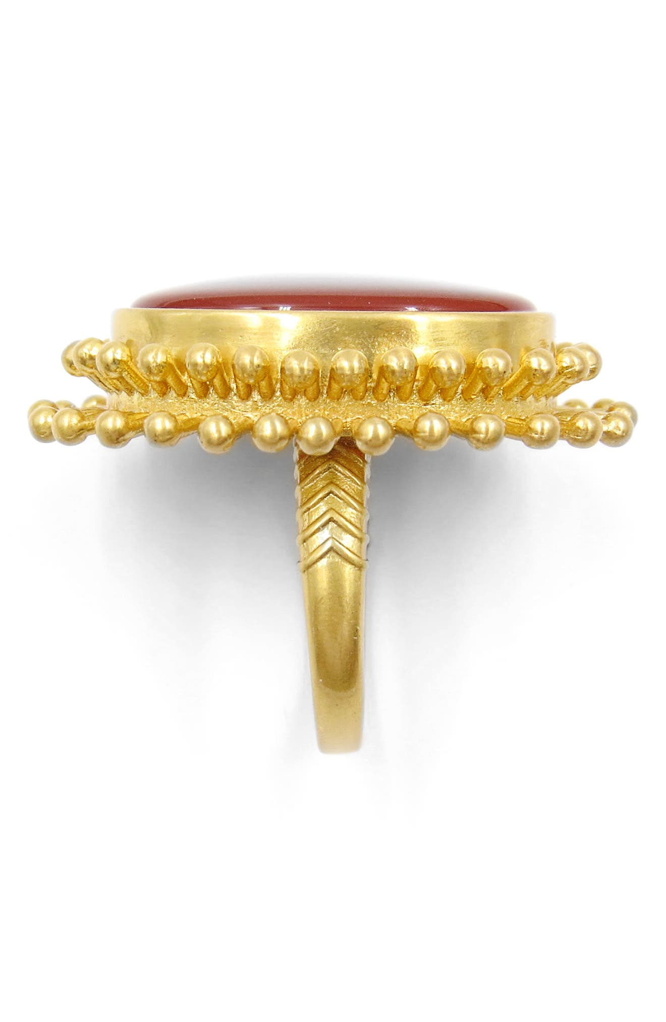 Agate Cocktail Ring,                             Alternate thumbnail 2, color,                             710