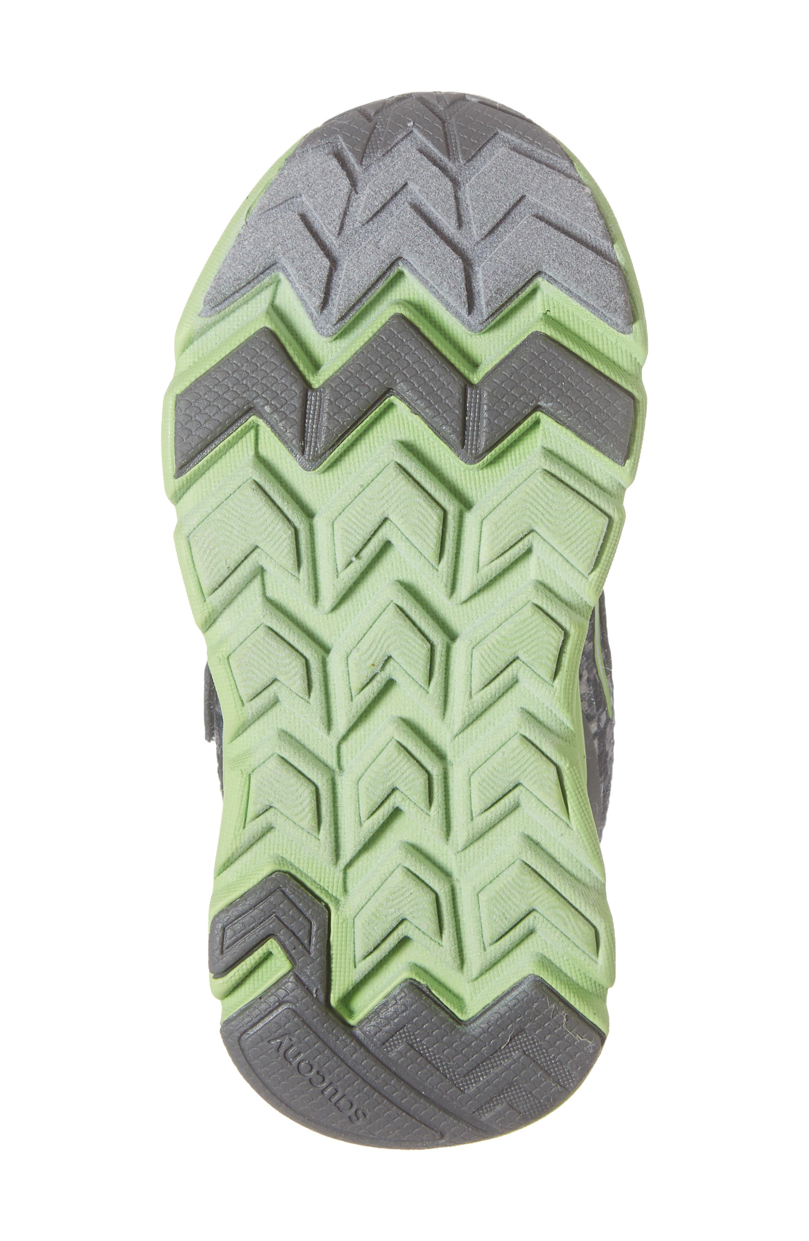 Baby Liteform Sneaker,                             Alternate thumbnail 6, color,                             GREY/ GREEN