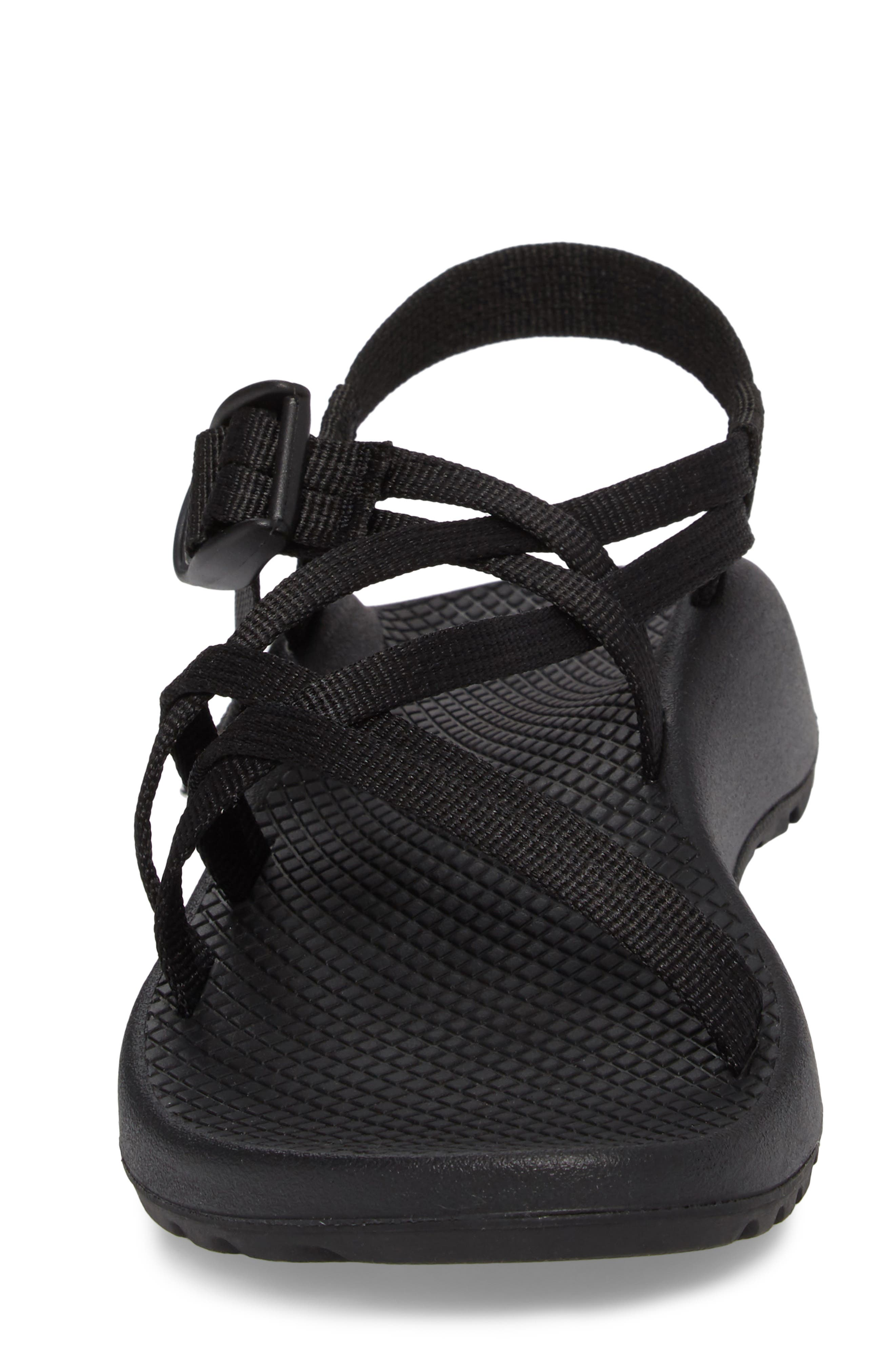 ZX1 Classic Sport Sandal,                             Alternate thumbnail 4, color,                             BLACK