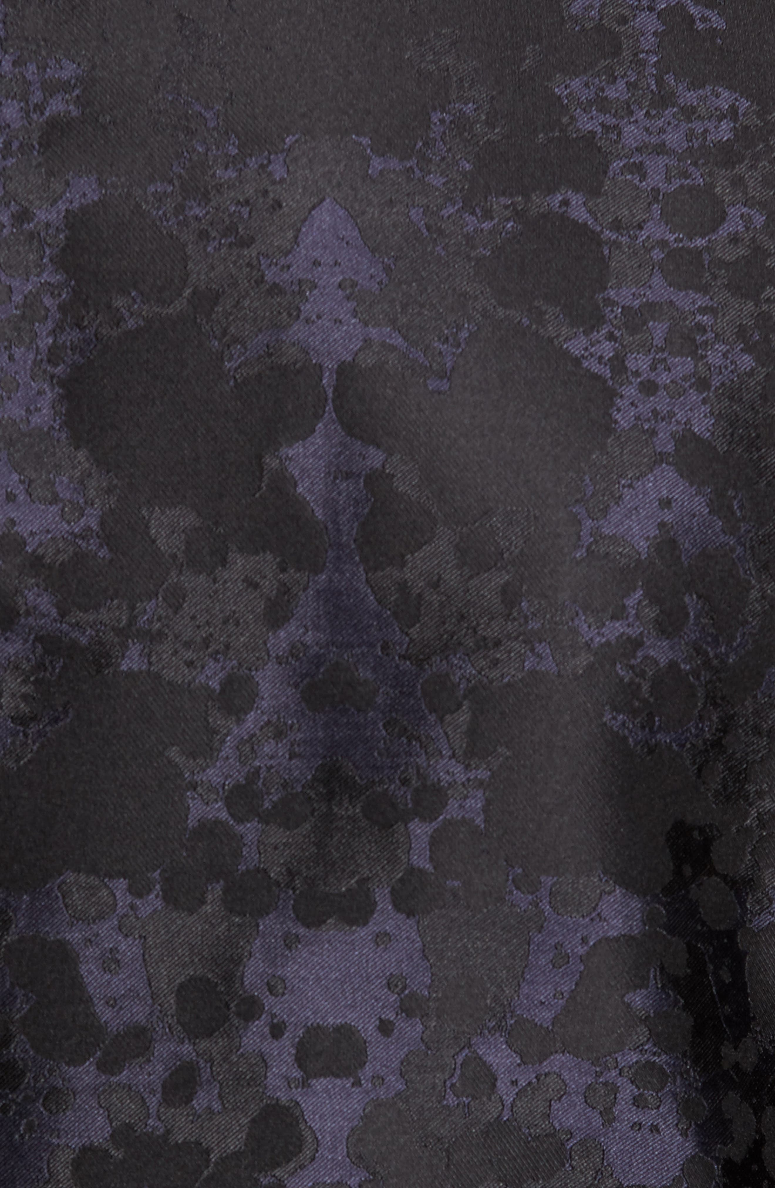 Artins Print Silk Sport Coat,                             Alternate thumbnail 6, color,                             001