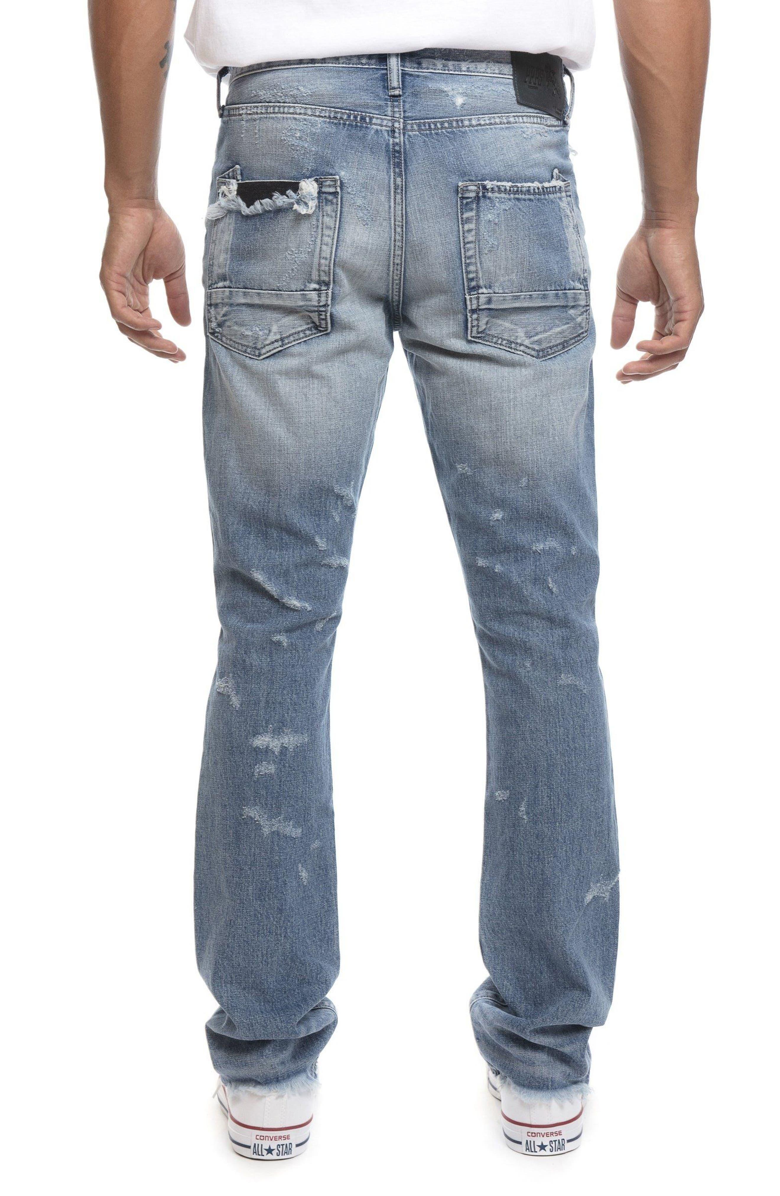 Demon Slim Straight Leg Jeans,                             Alternate thumbnail 2, color,                             454