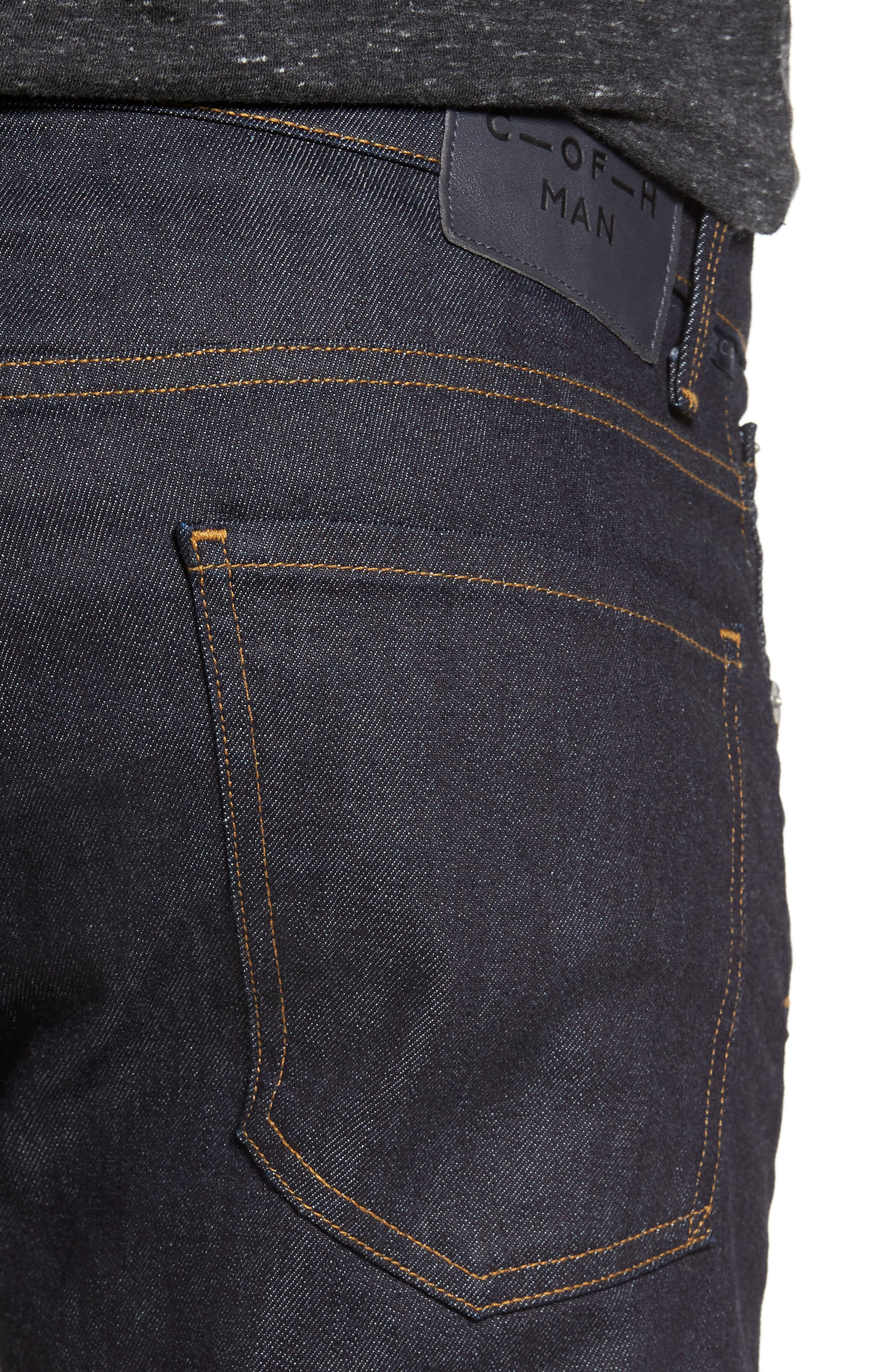 Bowery Slim Fit Jeans,                             Alternate thumbnail 5, color,                             432