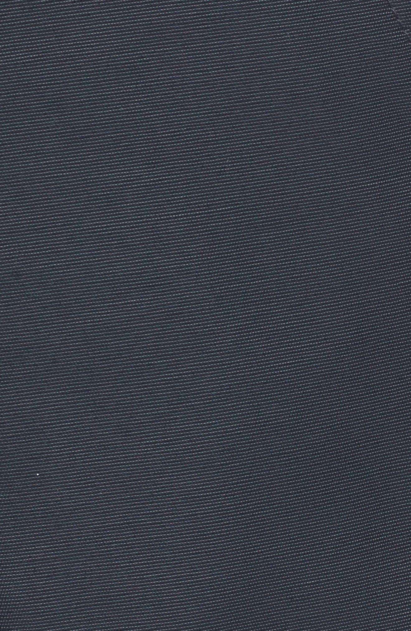 'Ballistic' Bomber Jacket with Genuine Fox Fur Trim,                             Alternate thumbnail 7, color,                             DARK NAVY/ NATURAL FOX