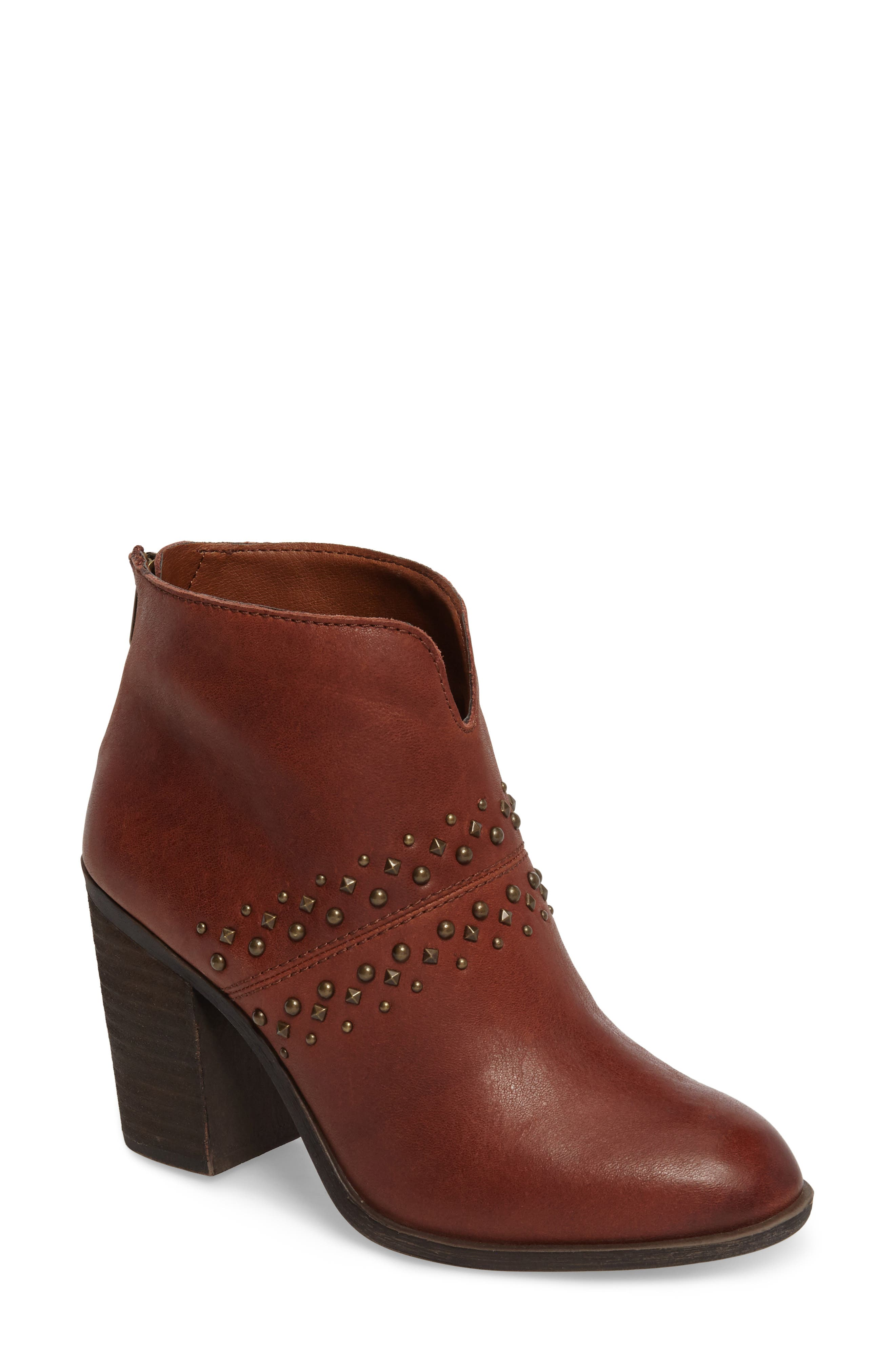 Sancha Studded Bootie,                             Main thumbnail 3, color,
