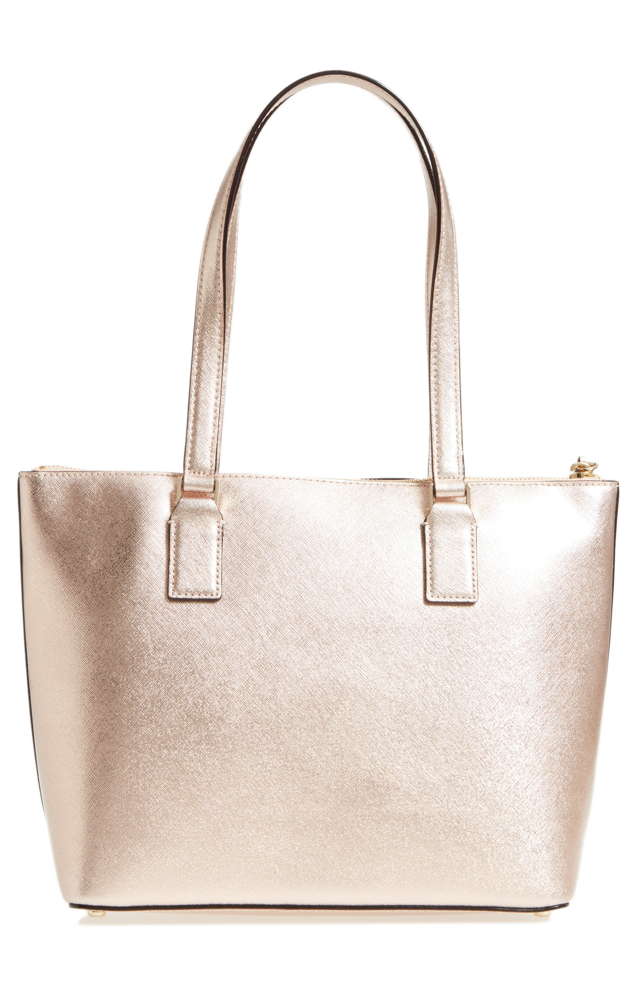 cameron street - small lucie leather tote,                             Alternate thumbnail 3, color,                             650