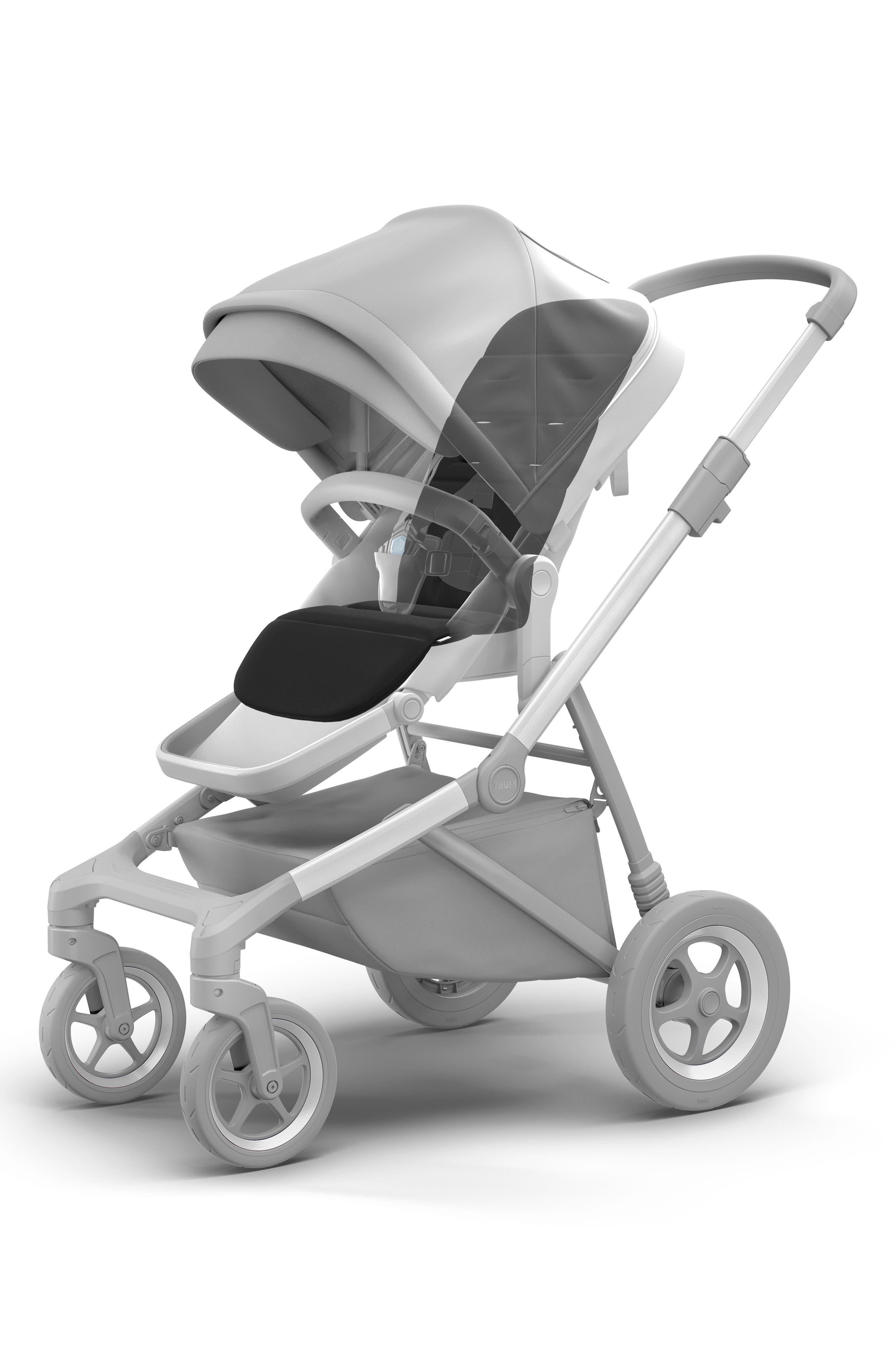 THULE,                             Stroller Seat Liner,                             Alternate thumbnail 2, color,                             BLACK