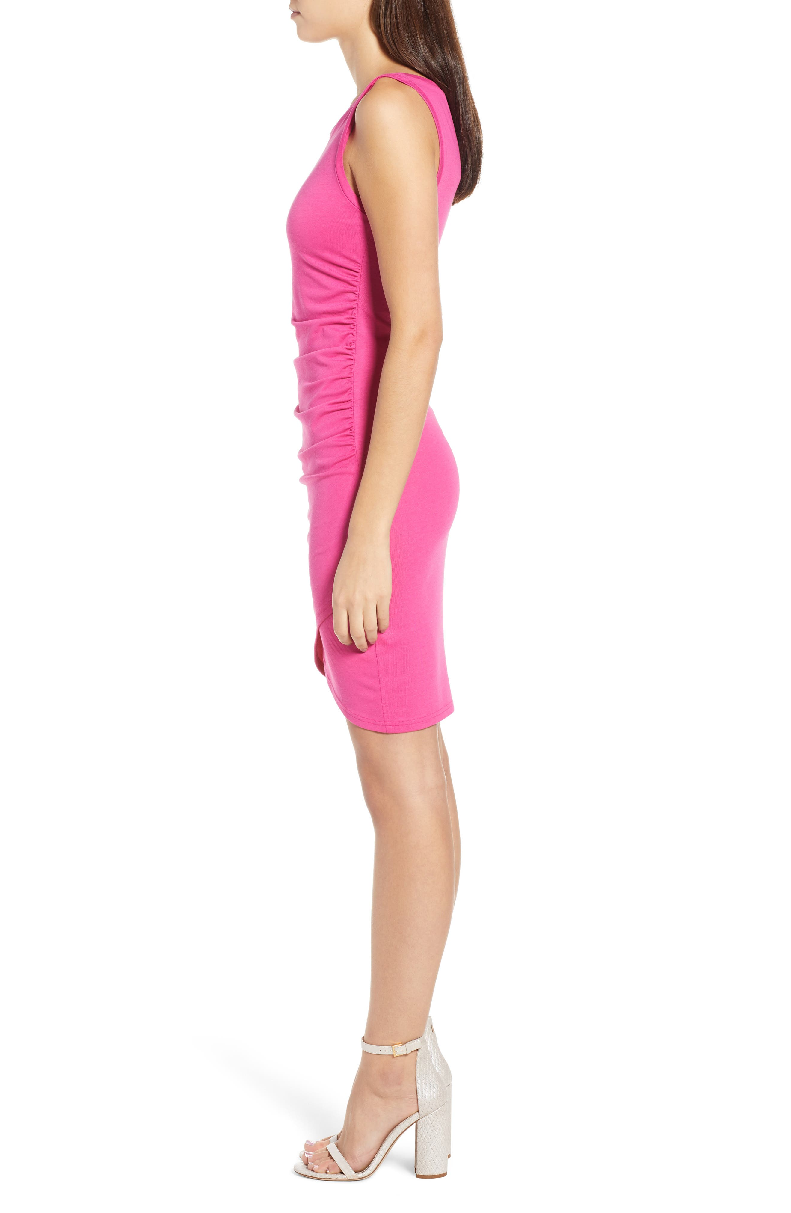 Ruched Body-Con Tank Dress,                             Alternate thumbnail 87, color,