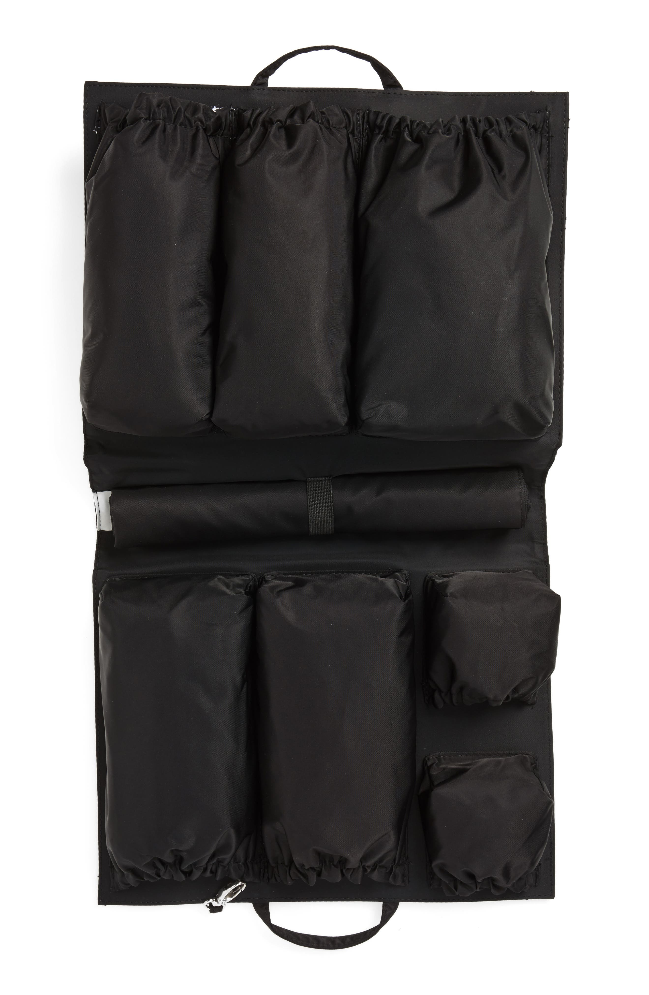 Organization Handbag Insert,                             Alternate thumbnail 4, color,                             CLASSIC BLACK