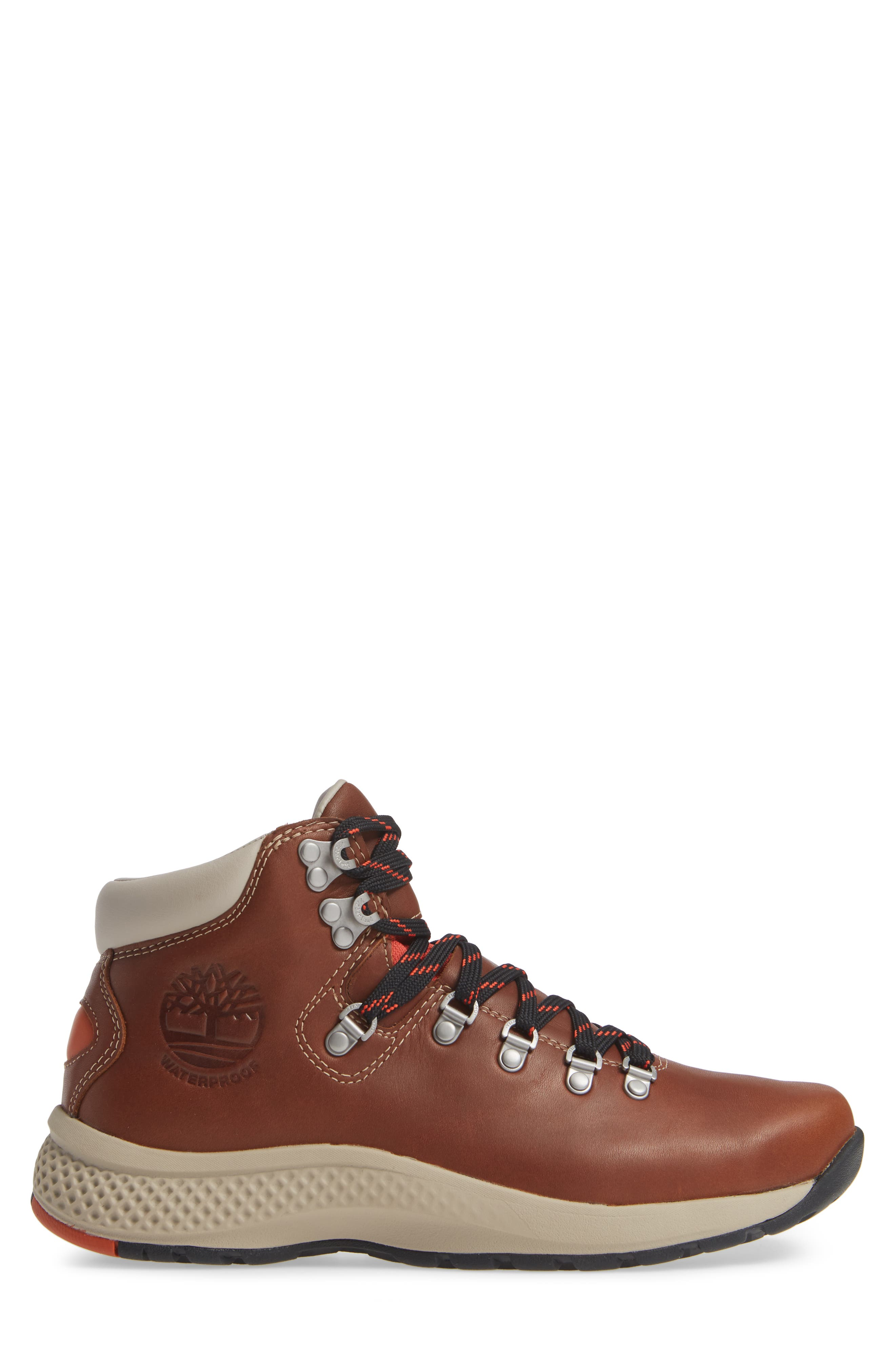 1978 Aerocore Waterproof Hiking Boot,                             Alternate thumbnail 3, color,                             BROWN LEATHER