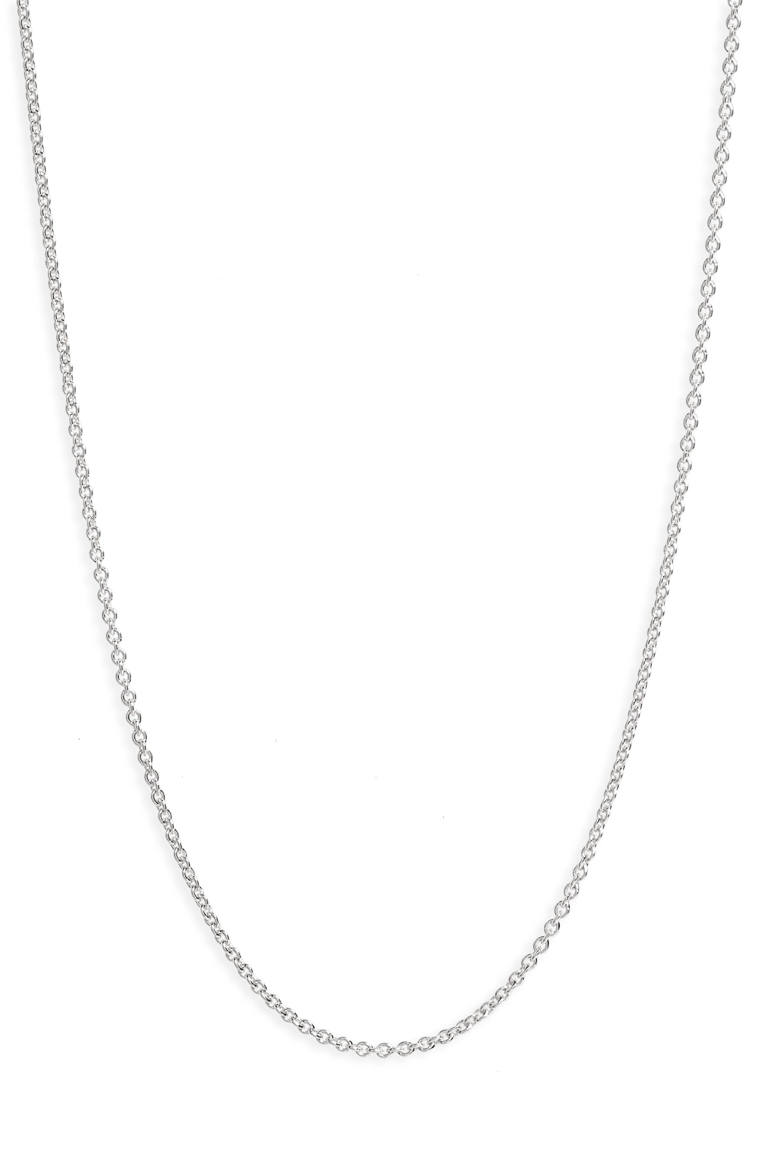 24-Inch Chain,                             Alternate thumbnail 2, color,                             SILVER