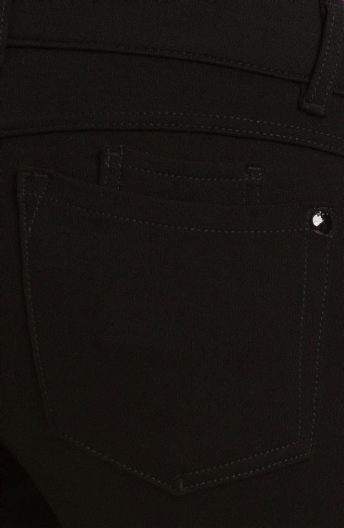 Ponte Knit Skinny Pants,                             Alternate thumbnail 2, color,                             002