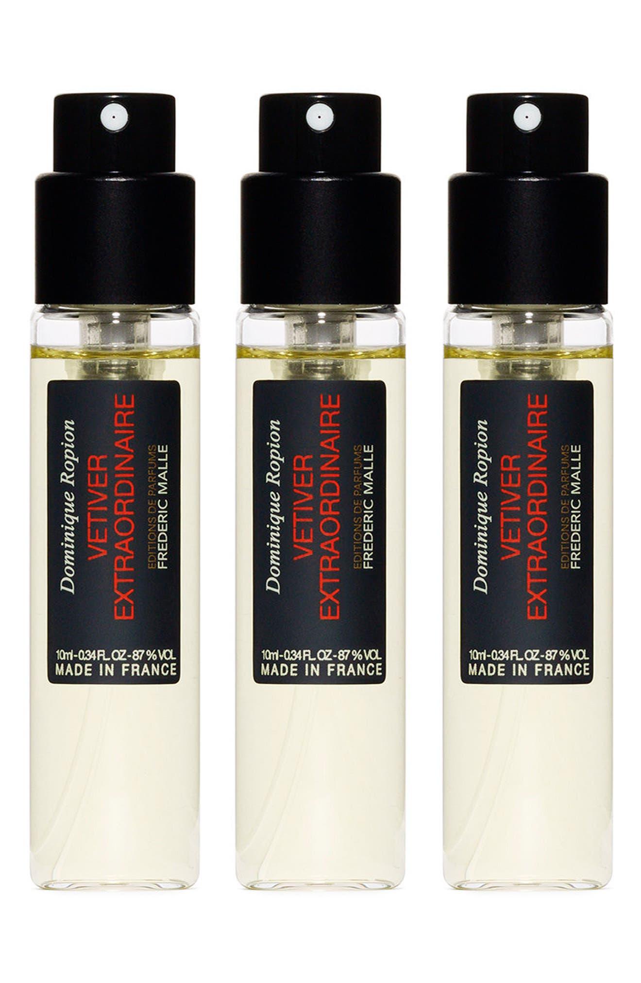Editions de Parfums Frédéric Malle Vetiver Extraordinaire Fragrance Travel Spray Trio,                             Alternate thumbnail 2, color,                             000