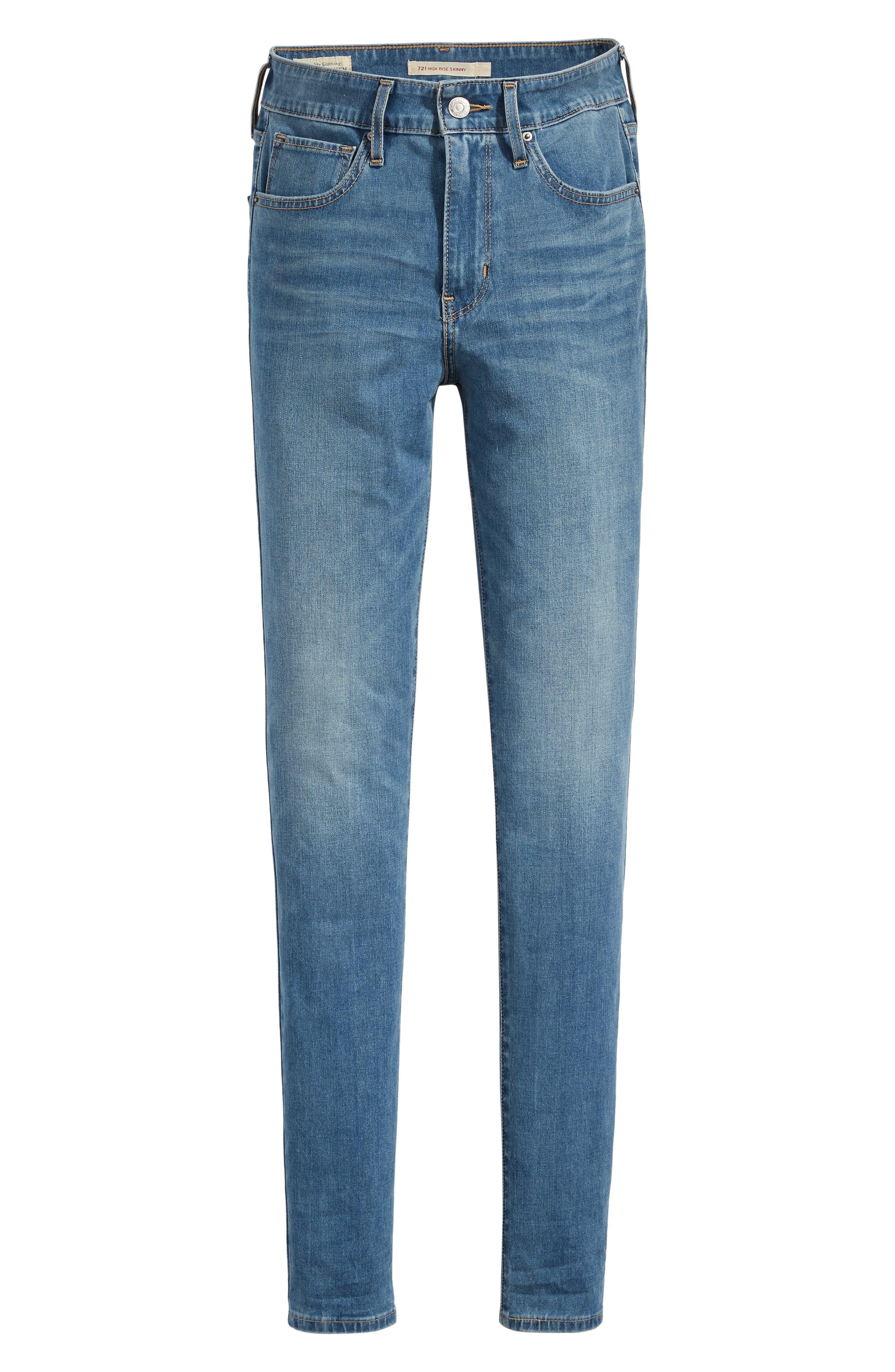 LEVI'S<SUP>®</SUP>,                             721<sup>™</sup> High Waist Skinny Jeans,                             Alternate thumbnail 5, color,                             L.O.L.