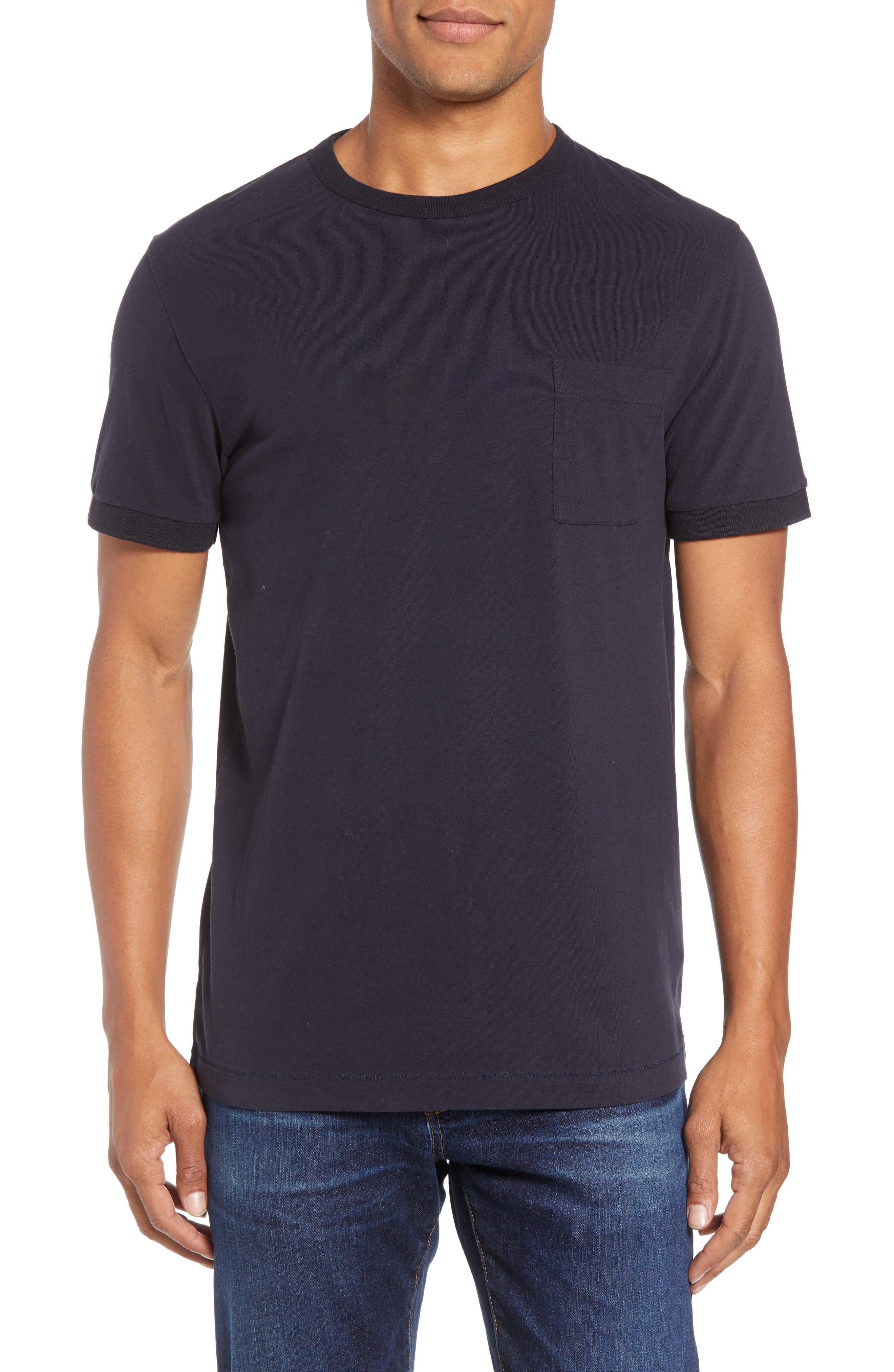 Finish T-Shirt, Main, color, UTILITY BLUE