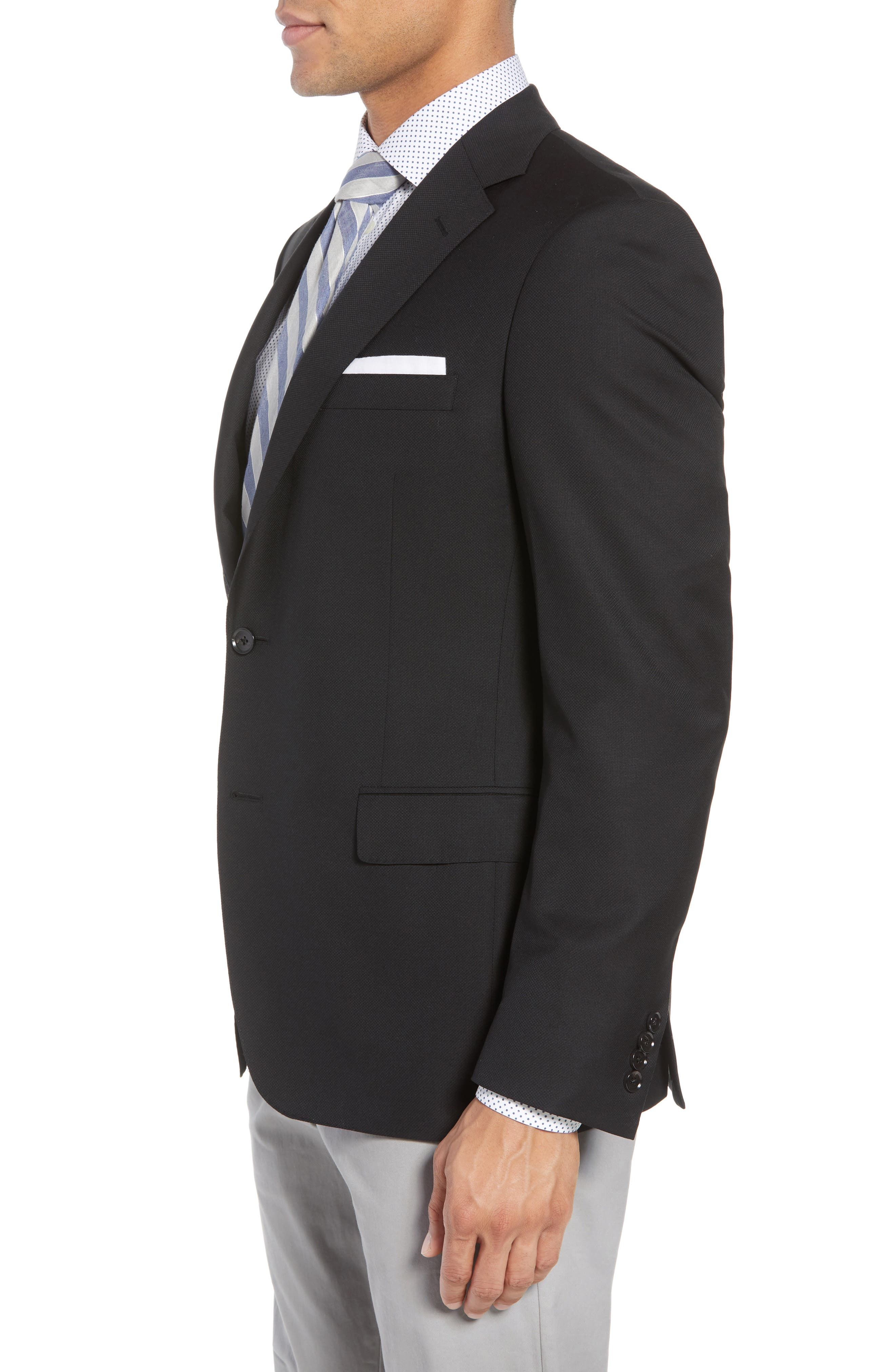 Classic Fit Wool Blazer,                             Alternate thumbnail 5, color,