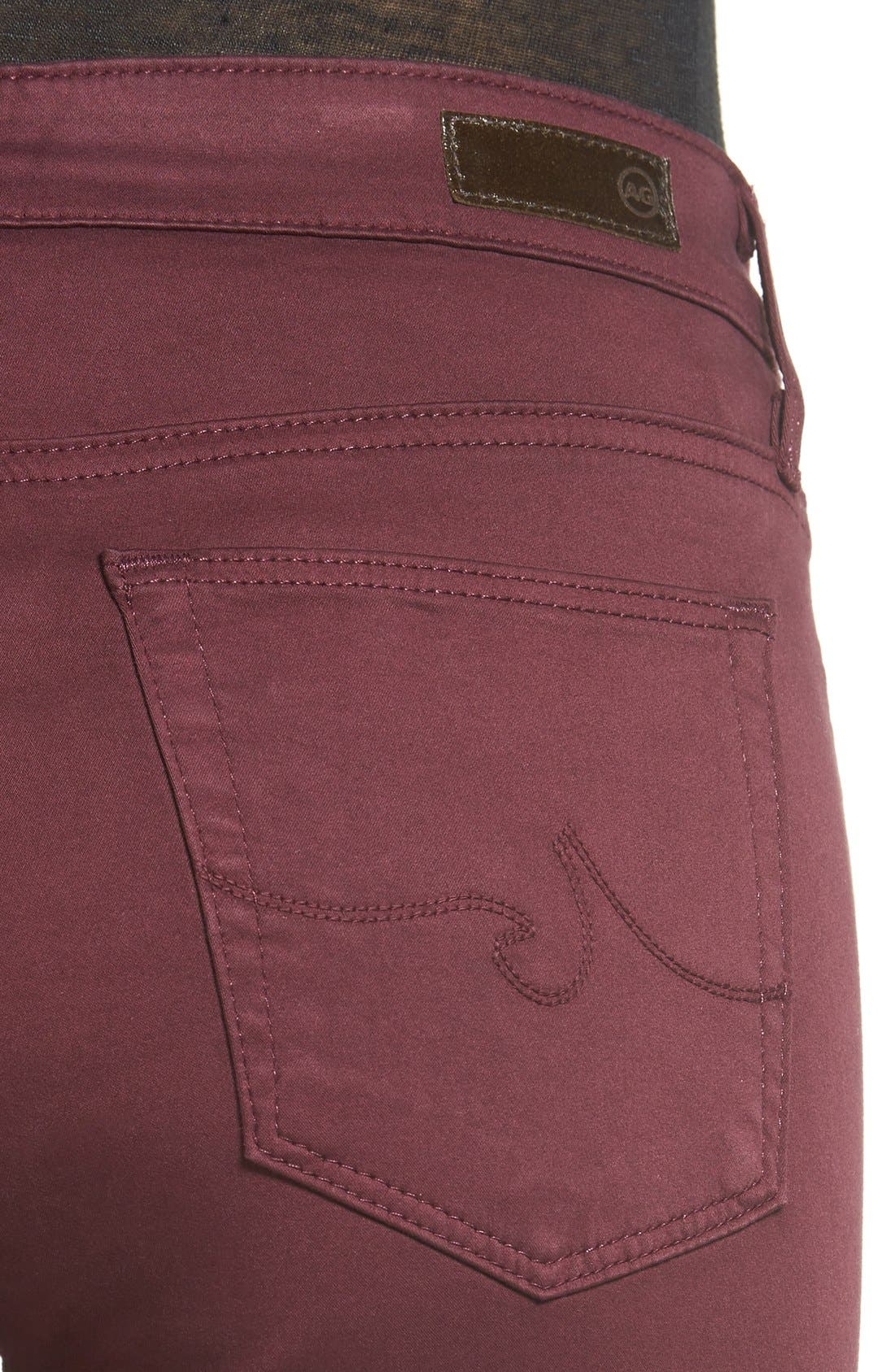 The Farrah High Rise Skinny Jeans,                             Alternate thumbnail 24, color,