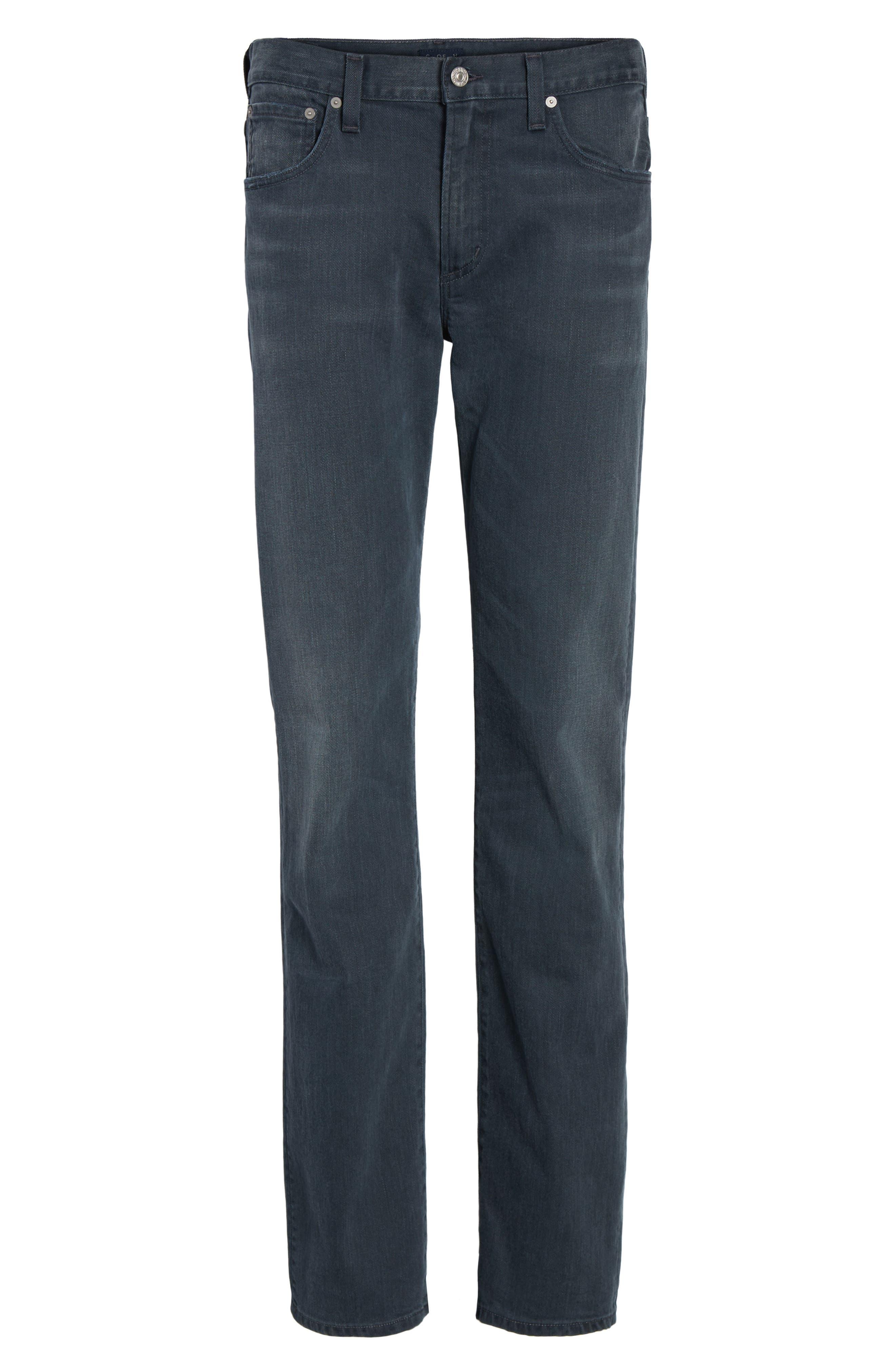 Sid Straight Leg Jeans,                             Alternate thumbnail 6, color,                             BLUE SKIES