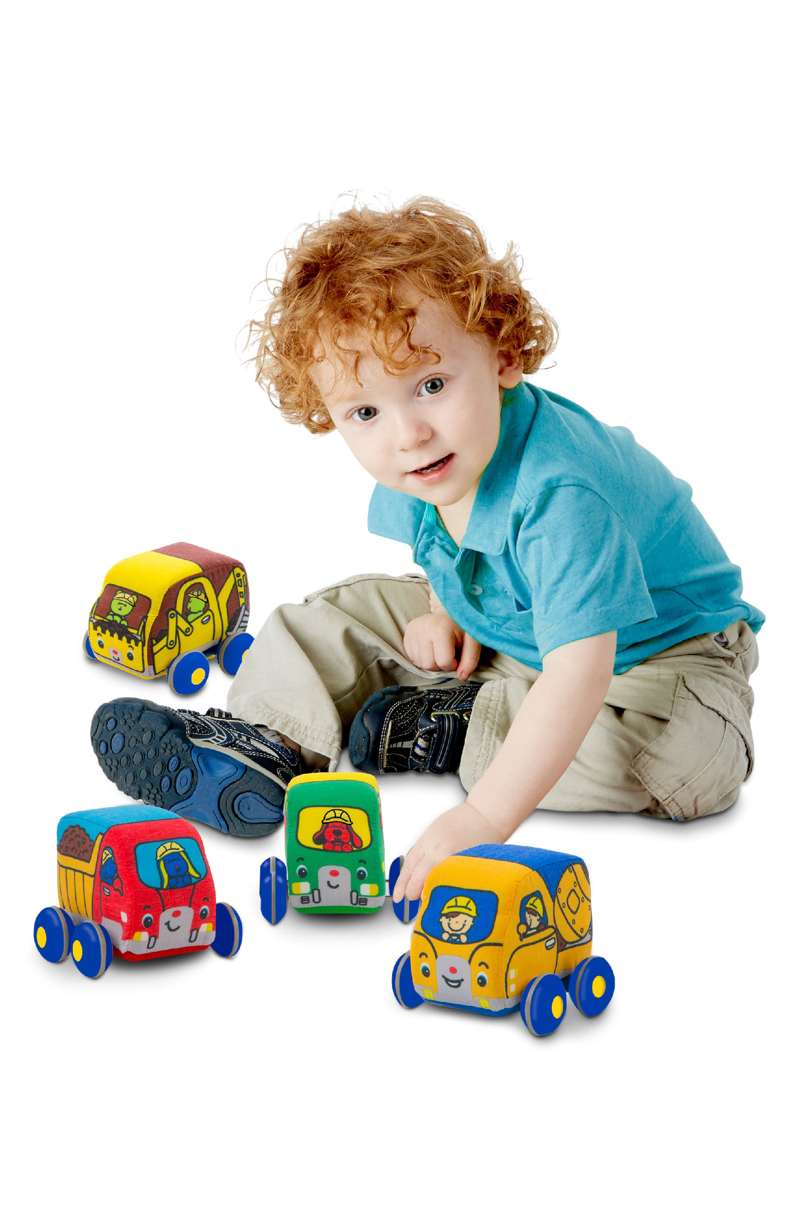4-Pack Pull Back Construction Vehicle Play Set,                             Alternate thumbnail 3, color,                             700