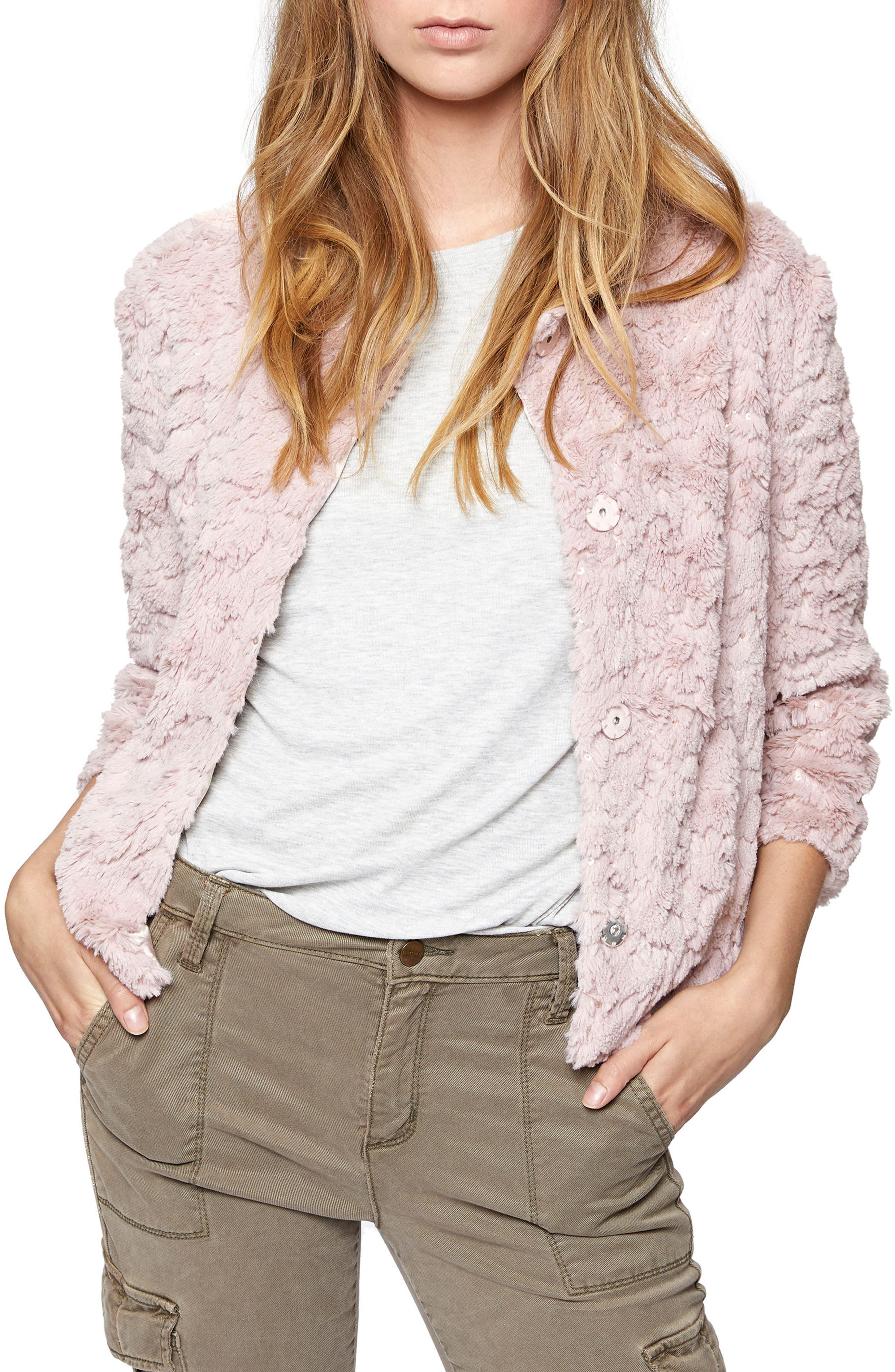 Pile Fleece Jacket,                         Main,                         color, 650