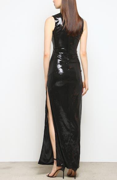 Turtleneck Sequin Gown, video thumbnail