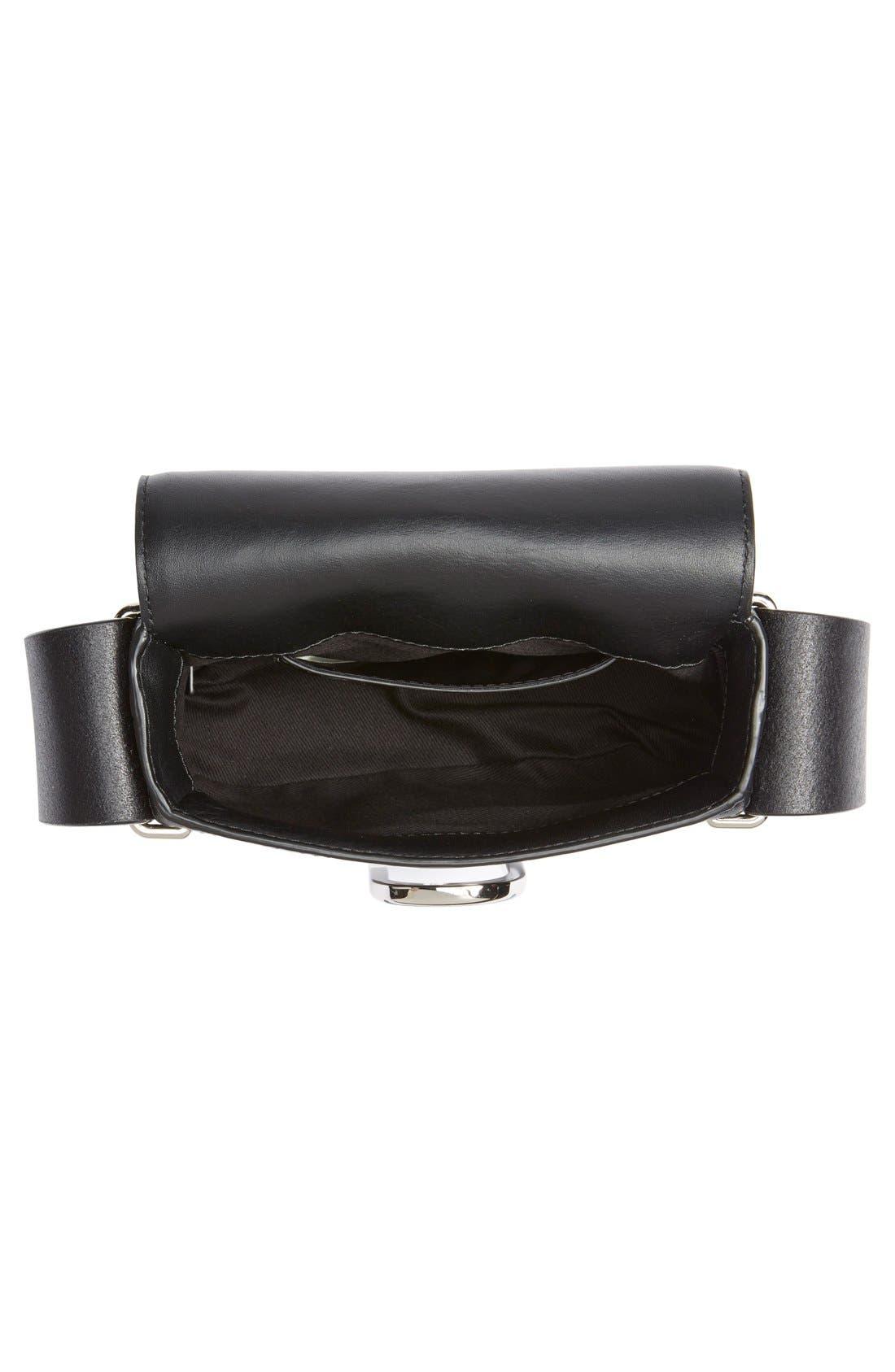 'Mini Alix' Leather Shoulder Bag,                             Alternate thumbnail 10, color,