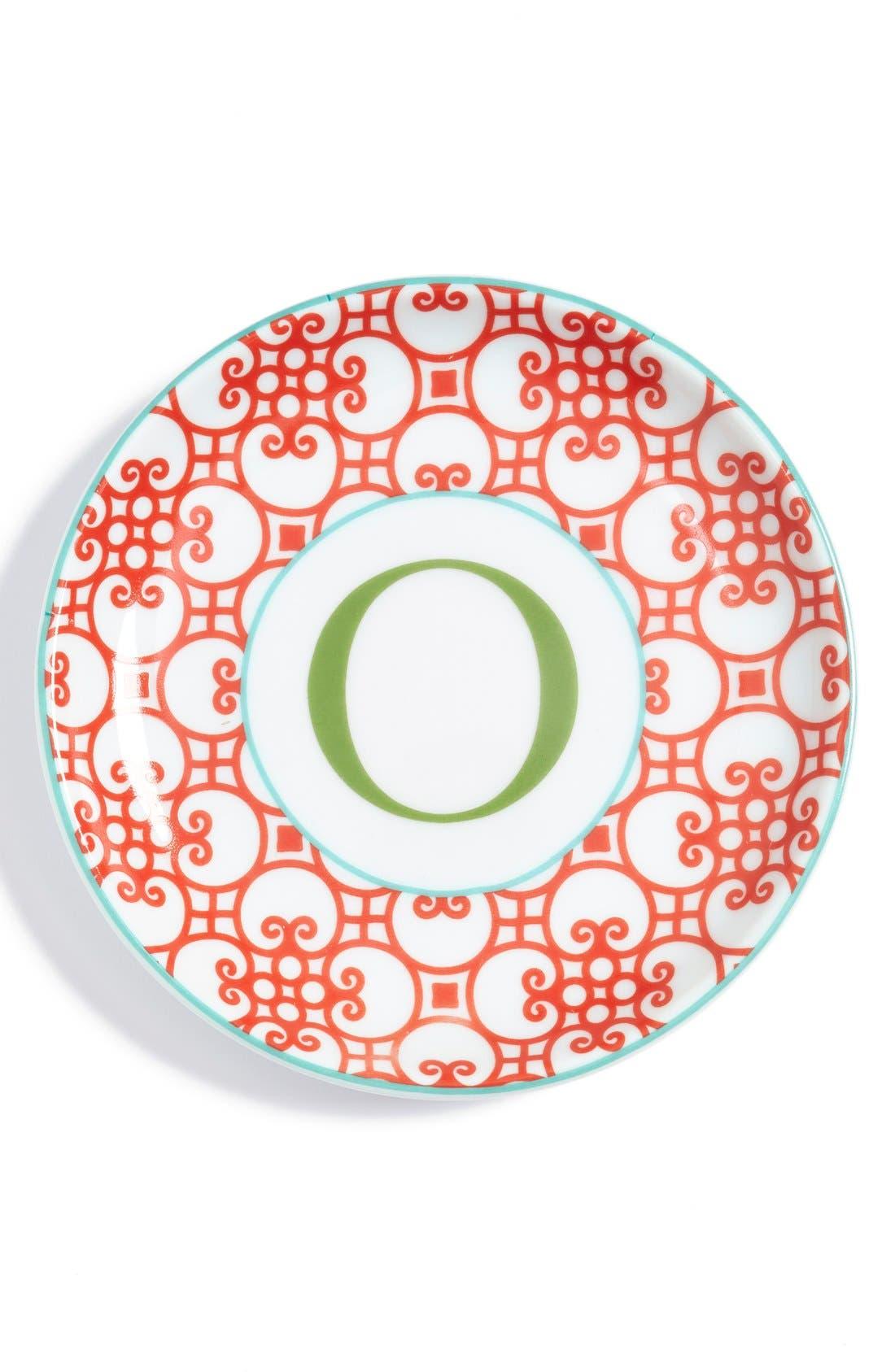 'L'Alphabet' Porcelain Tray,                             Main thumbnail 17, color,