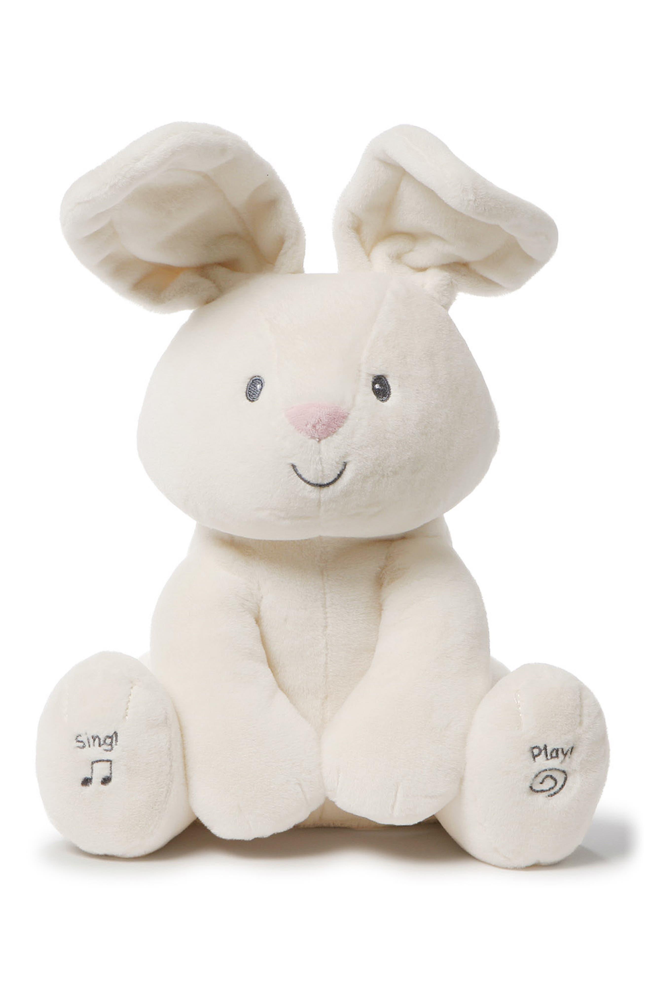 Gund Flora Musical Stuffed Animal,                         Main,                         color, CREAM