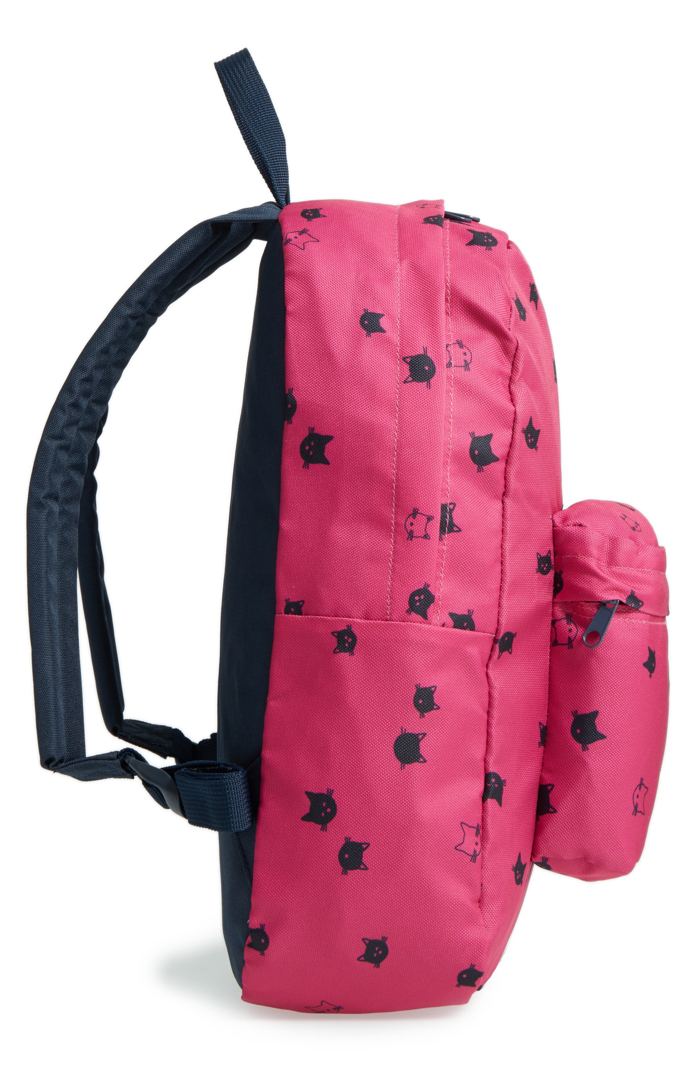 Moggy Cat Backpack,                             Alternate thumbnail 4, color,                             650