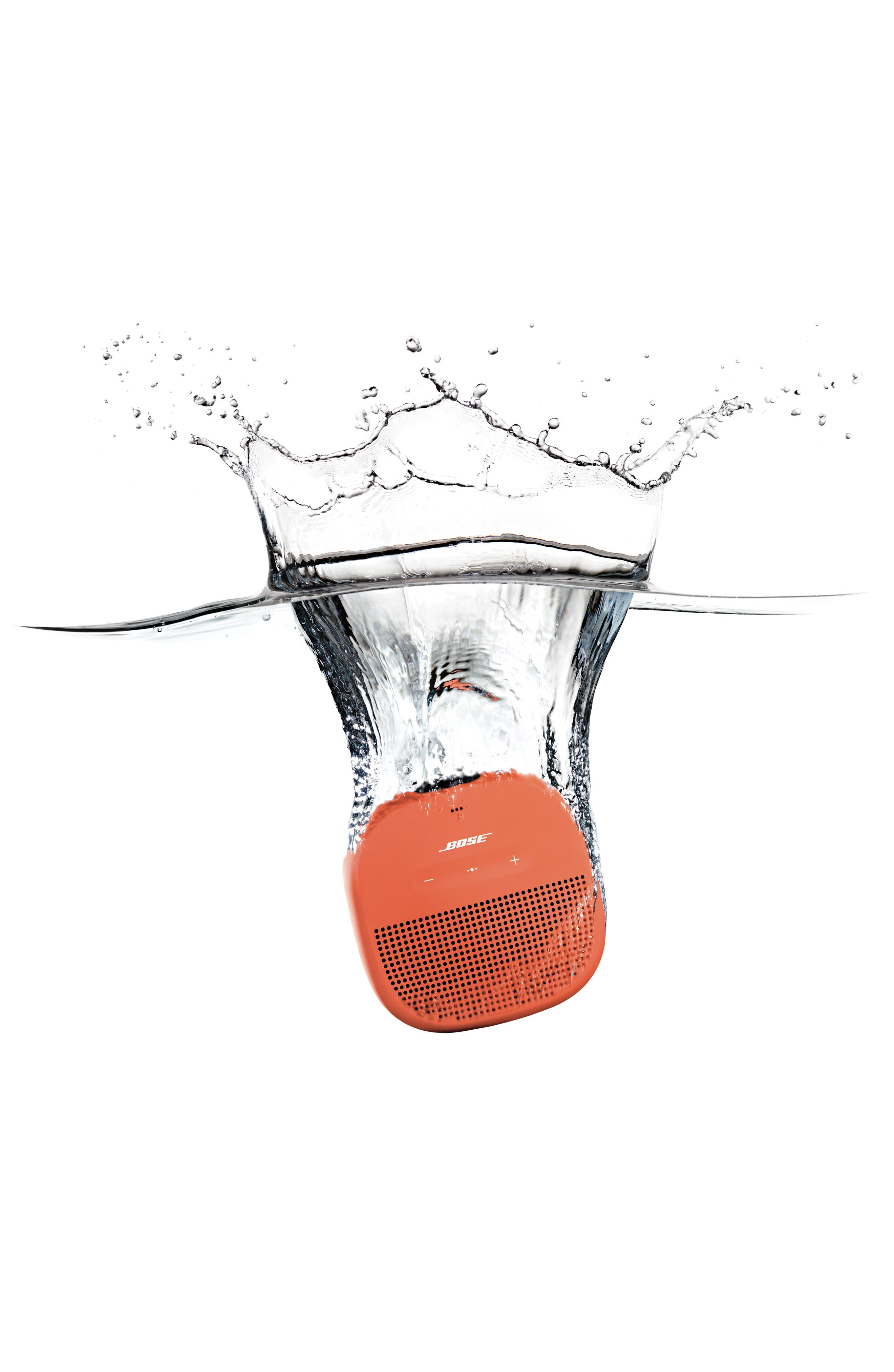BOSE<SUP>®</SUP>,                             SoundLink<sup>®</sup> Micro Bluetooth<sup>®</sup> Speaker,                             Alternate thumbnail 8, color,                             ORANGE