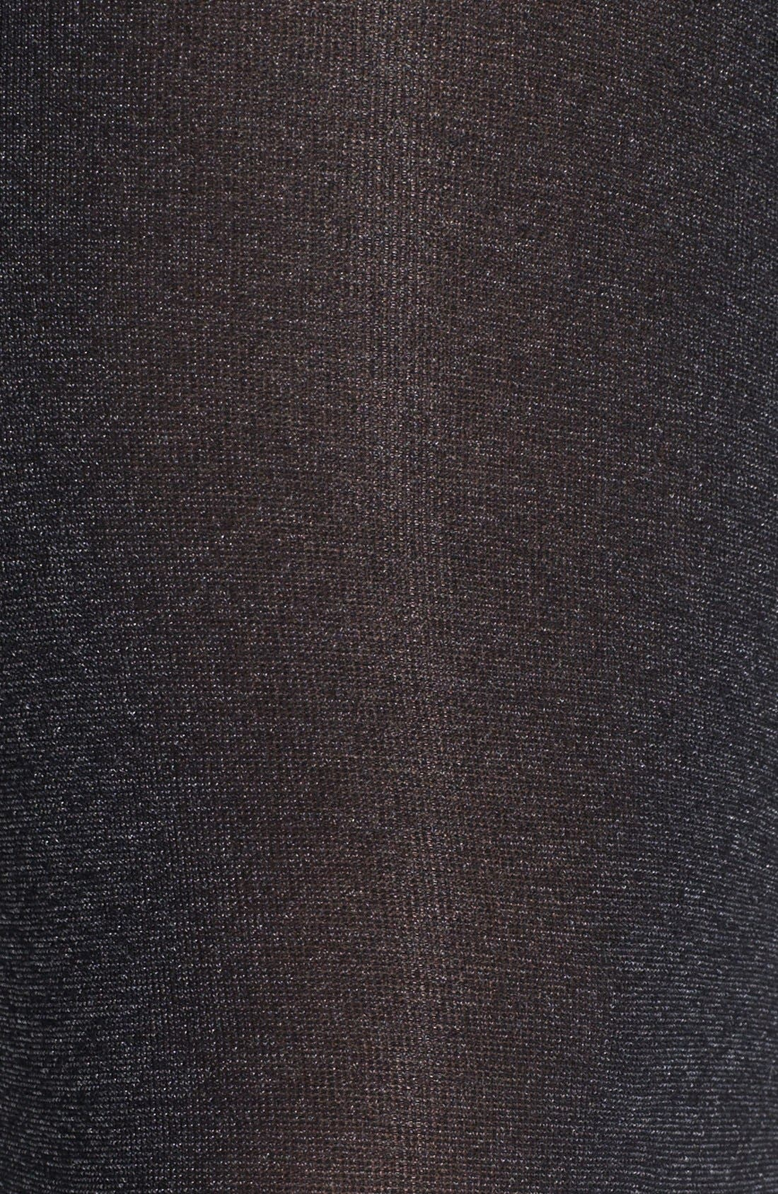 Heathered Opaque Tights,                             Alternate thumbnail 2, color,                             001