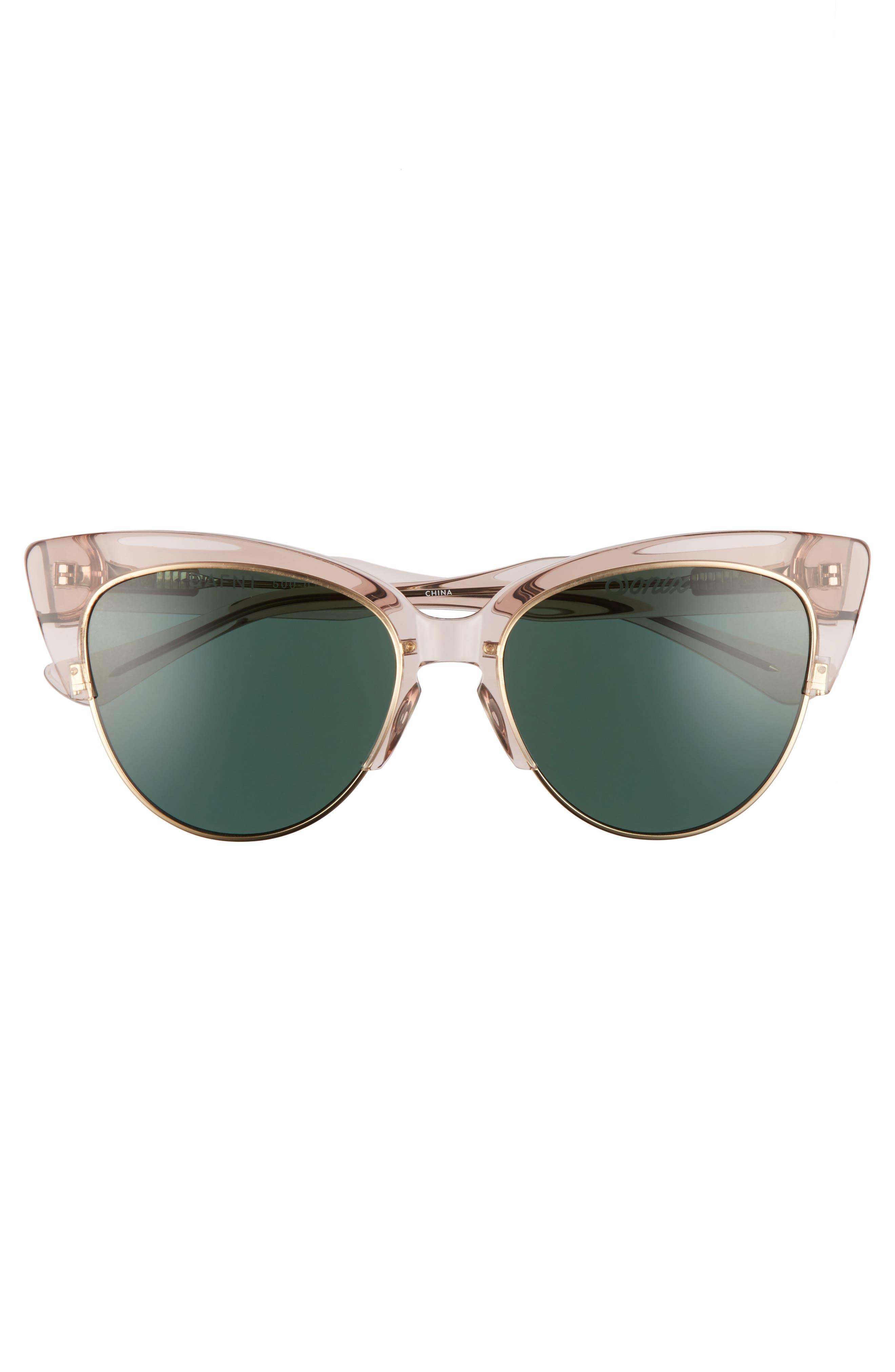 Dafni 56mm Gradient Cat Eye Sunglasses,                             Alternate thumbnail 9, color,