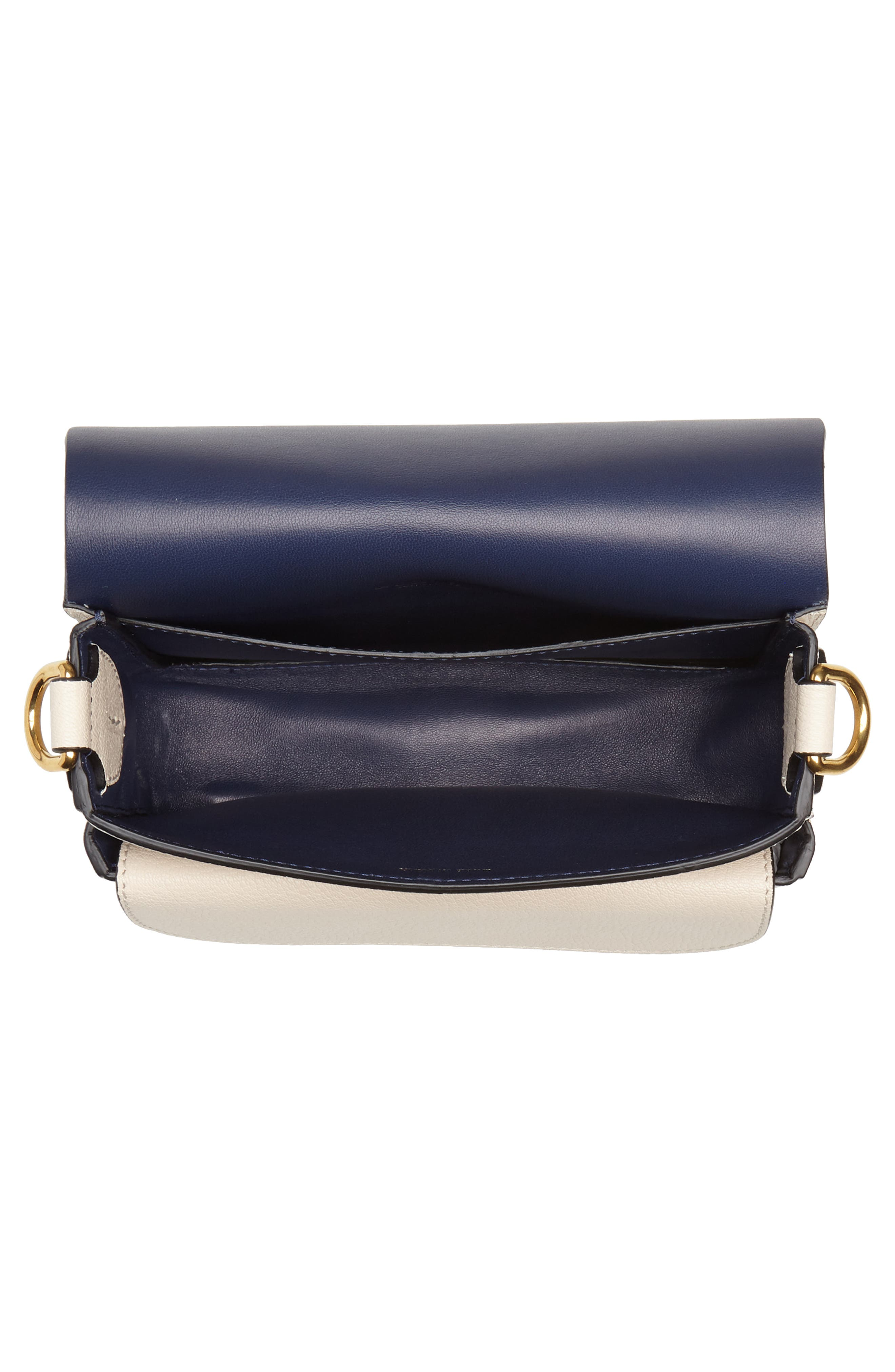 Square Leather Shoulder Bag,                             Alternate thumbnail 4, color,                             250
