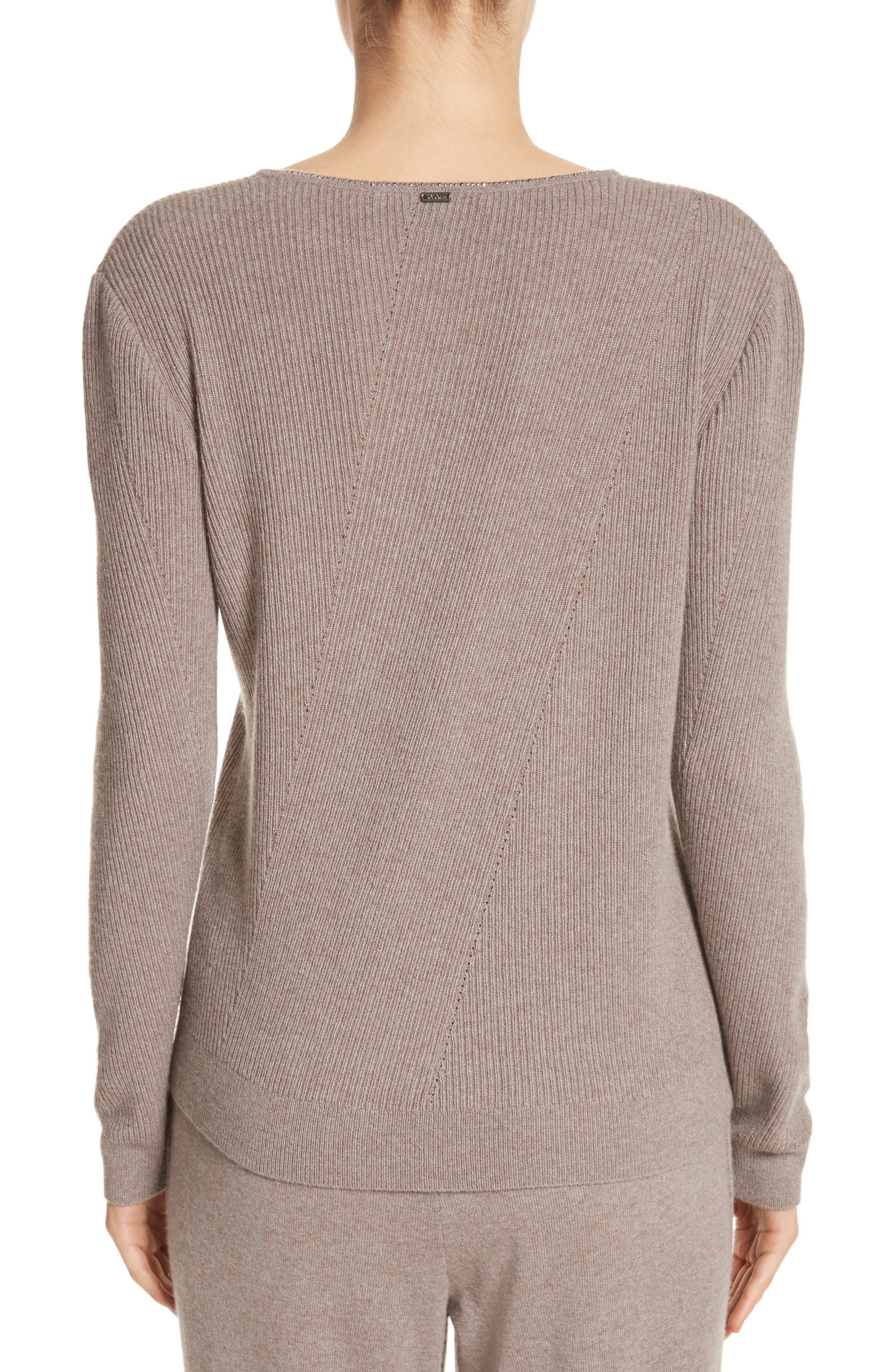 Cashmere Sweater,                             Alternate thumbnail 2, color,                             030