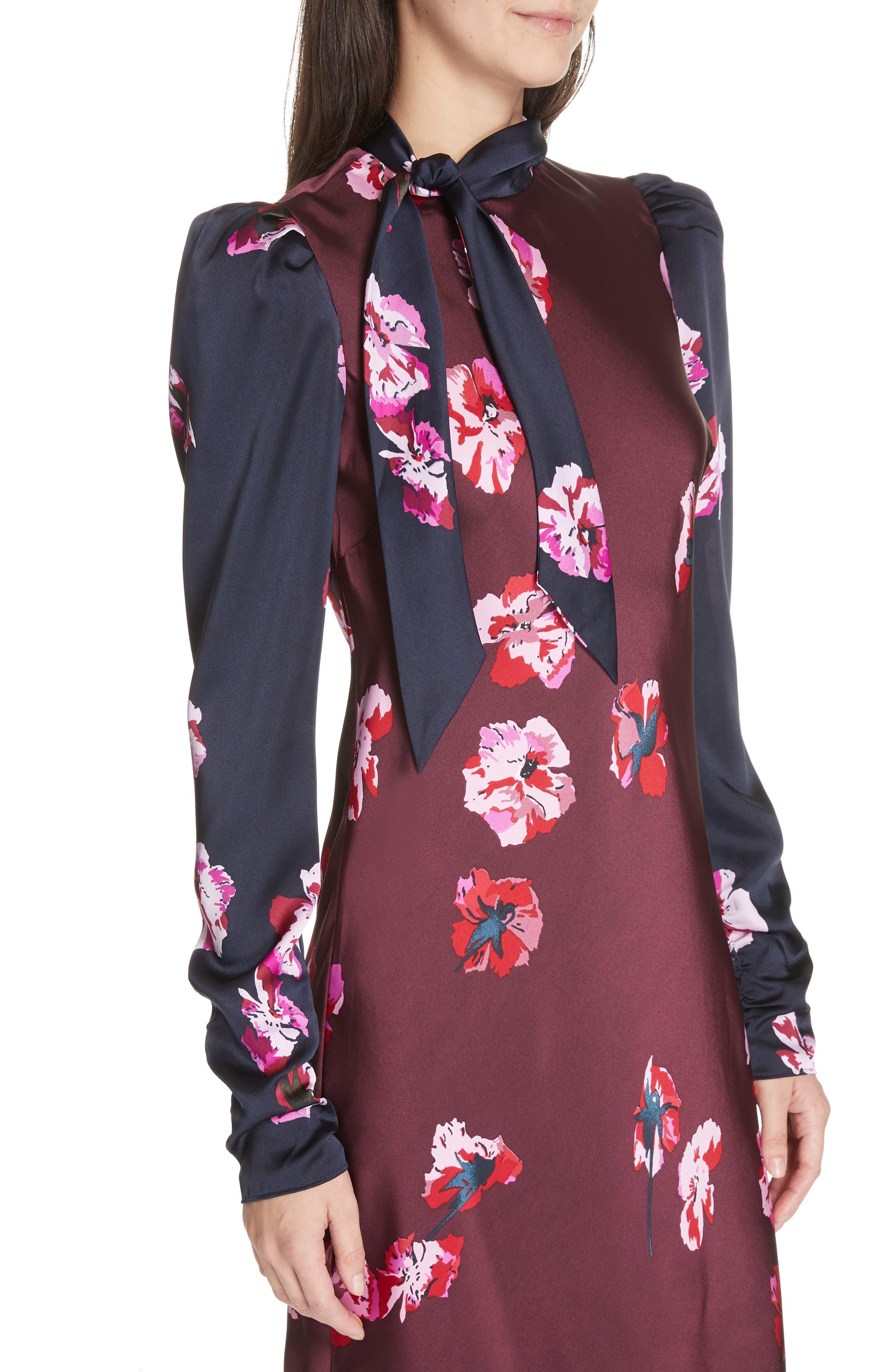 Kyan Sheath Dress,                             Alternate thumbnail 4, color,                             MIDNIGHT-BLACKB