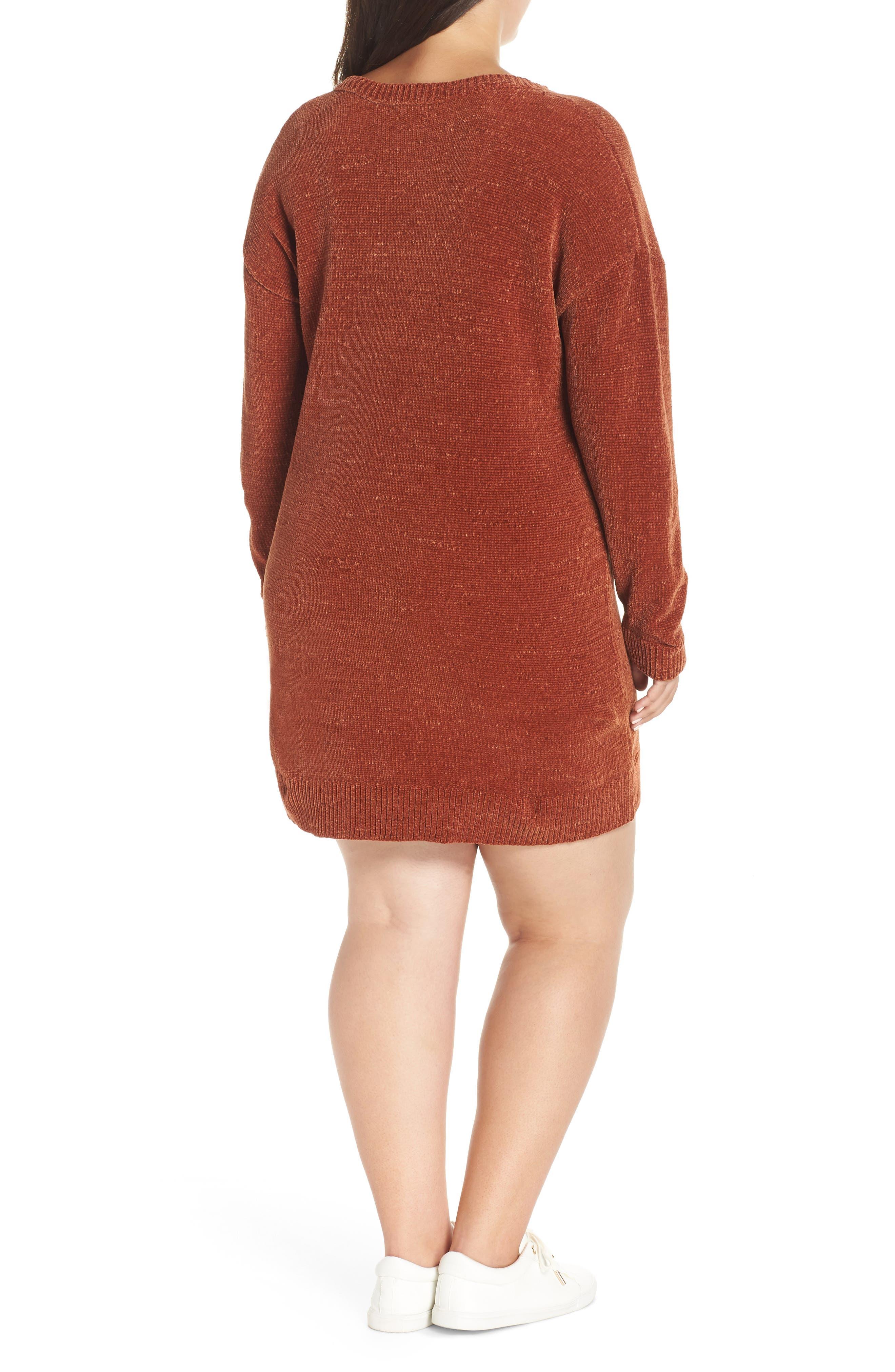 Chenille Sweater Dress,                             Alternate thumbnail 2, color,                             221