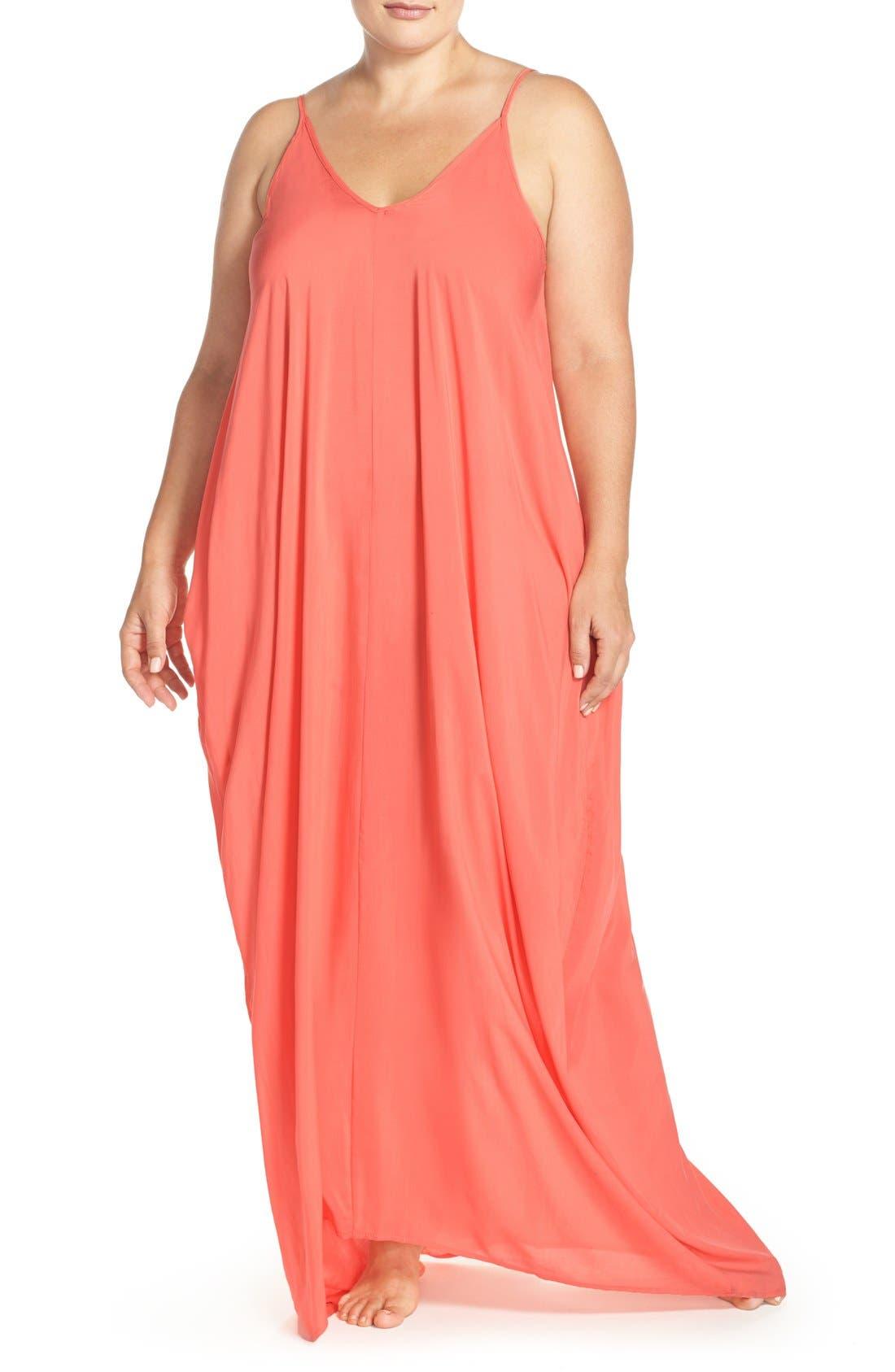 Cover-Up Maxi Dress,                             Main thumbnail 7, color,