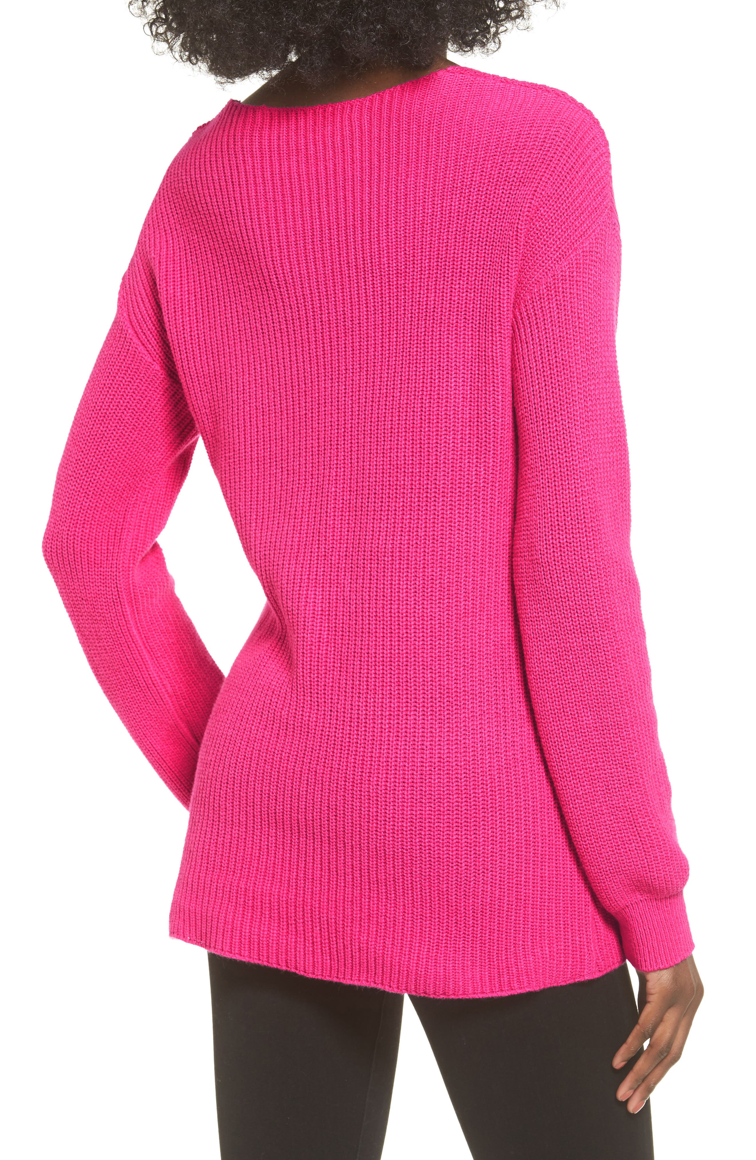 V-Neck Sweater,                             Alternate thumbnail 13, color,