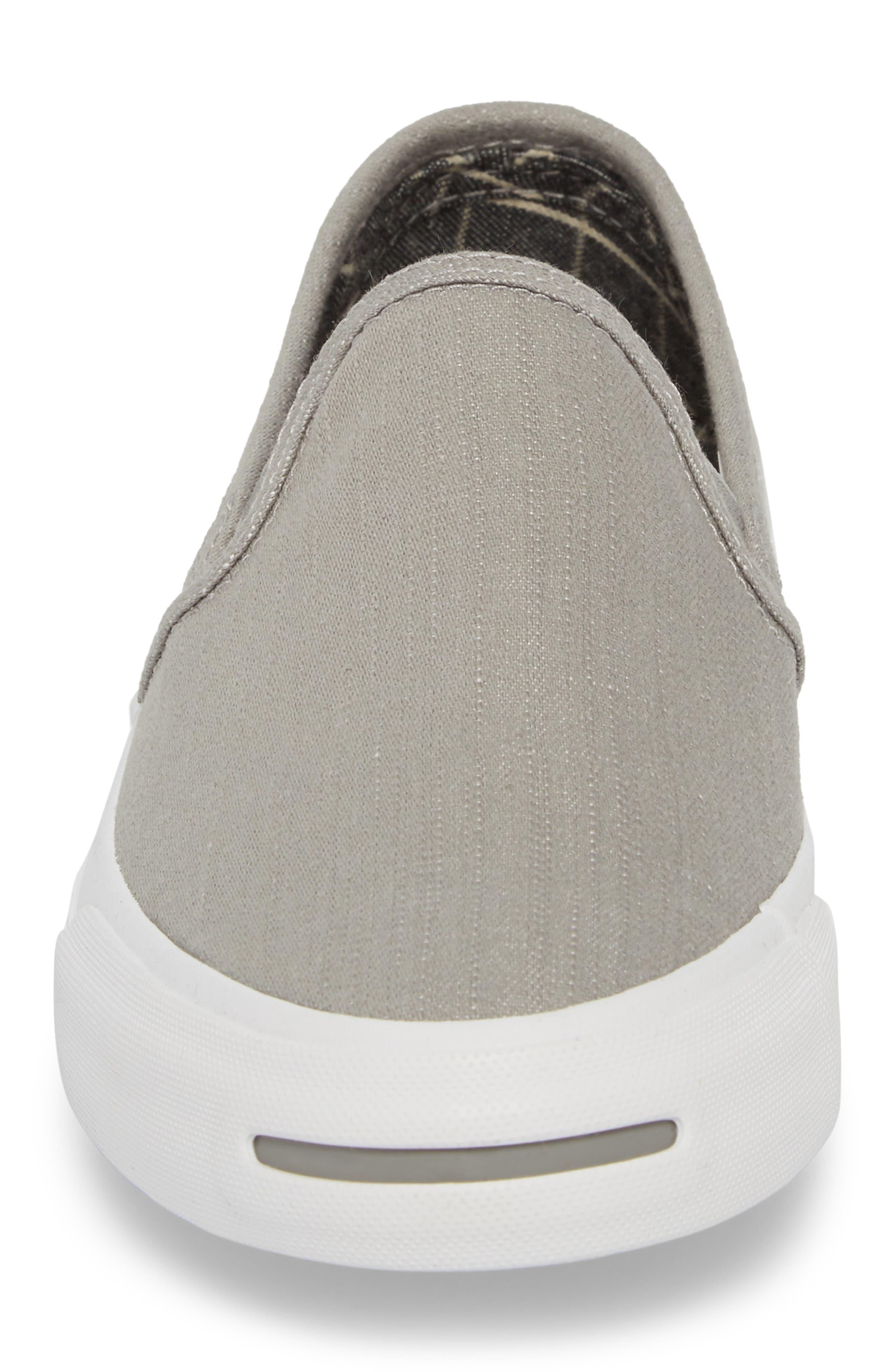 Jack Purcell Low Profile Slip-On Sneaker,                             Alternate thumbnail 4, color,                             020