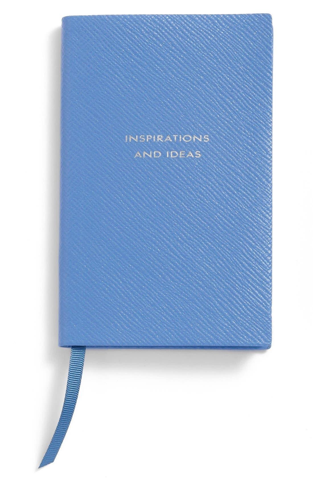 'Inspirations and Ideas - Panama' Pocket Notebook,                             Main thumbnail 1, color,                             BLUE NILE HERITAGE