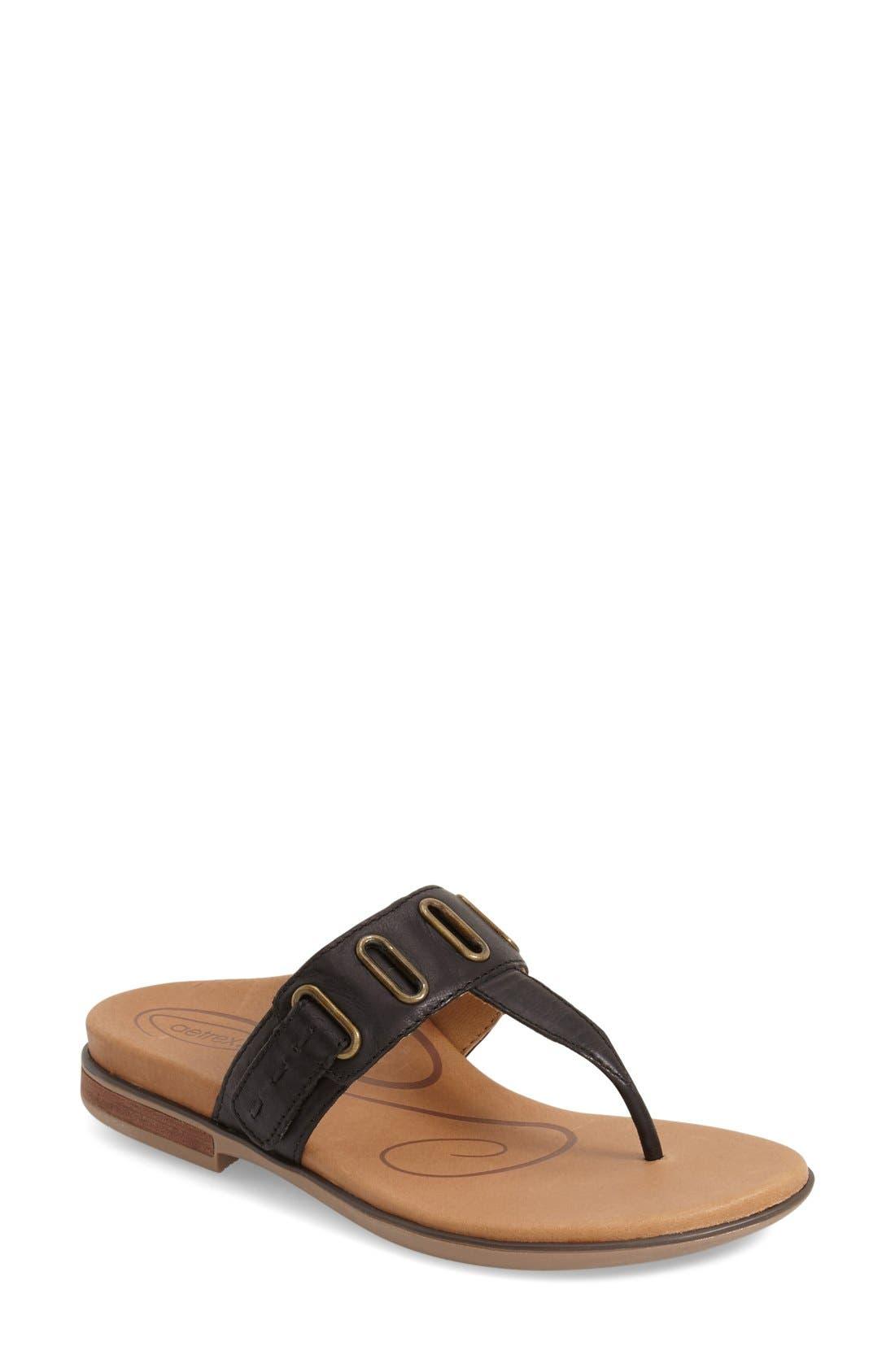 'Zara' Flip Flop,                         Main,                         color, 001