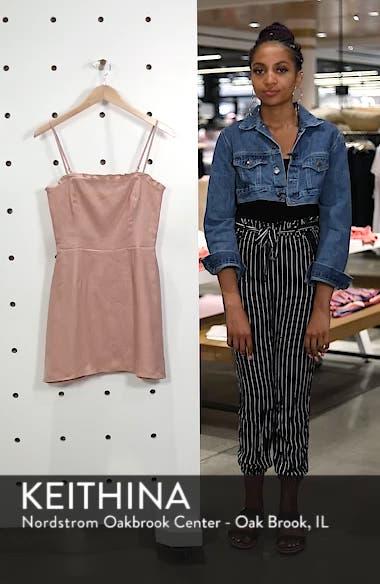 Ava Ruffle Linen Minidress, sales video thumbnail