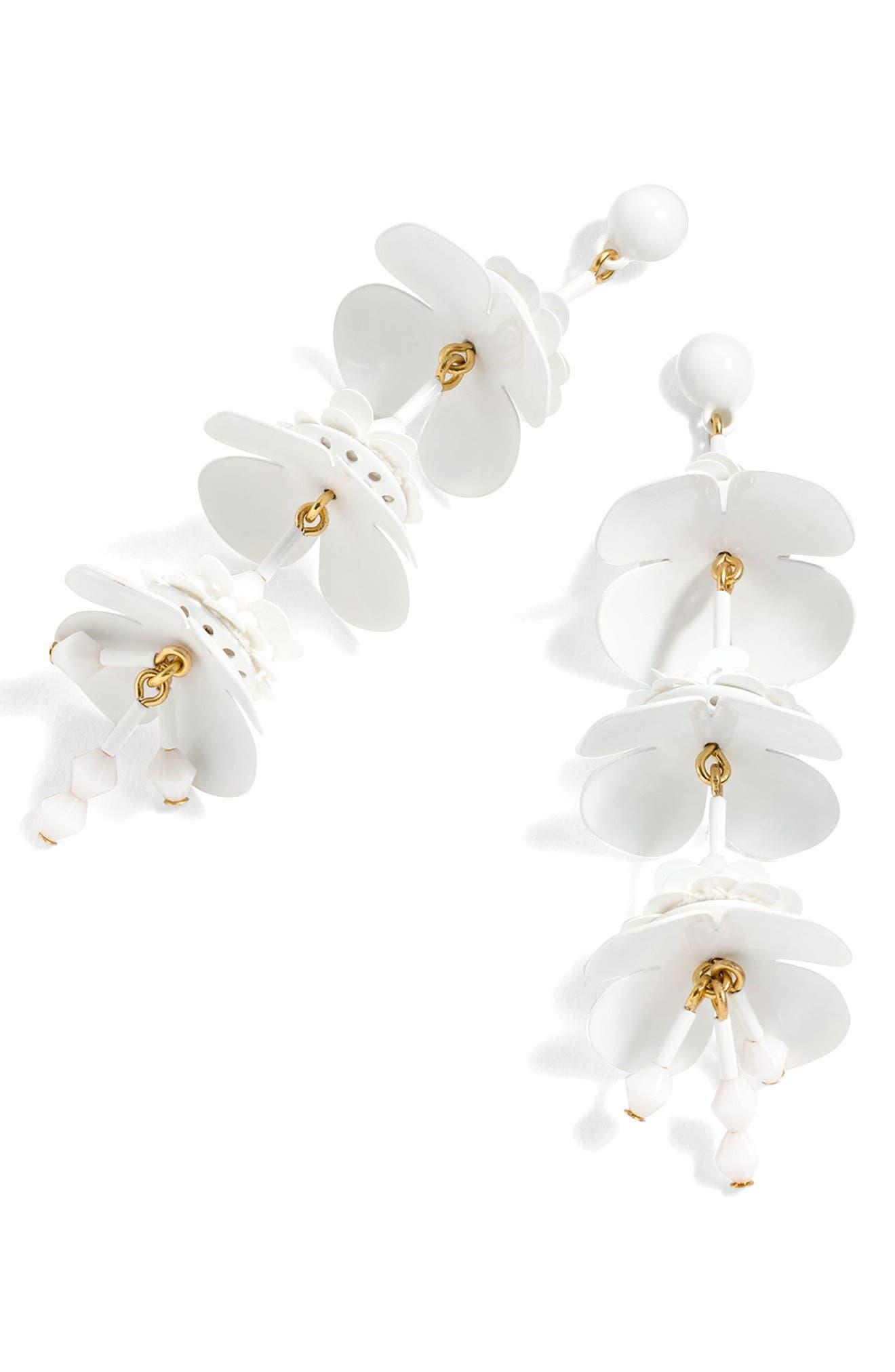 Bead & Blossom Earrings,                         Main,                         color, 100