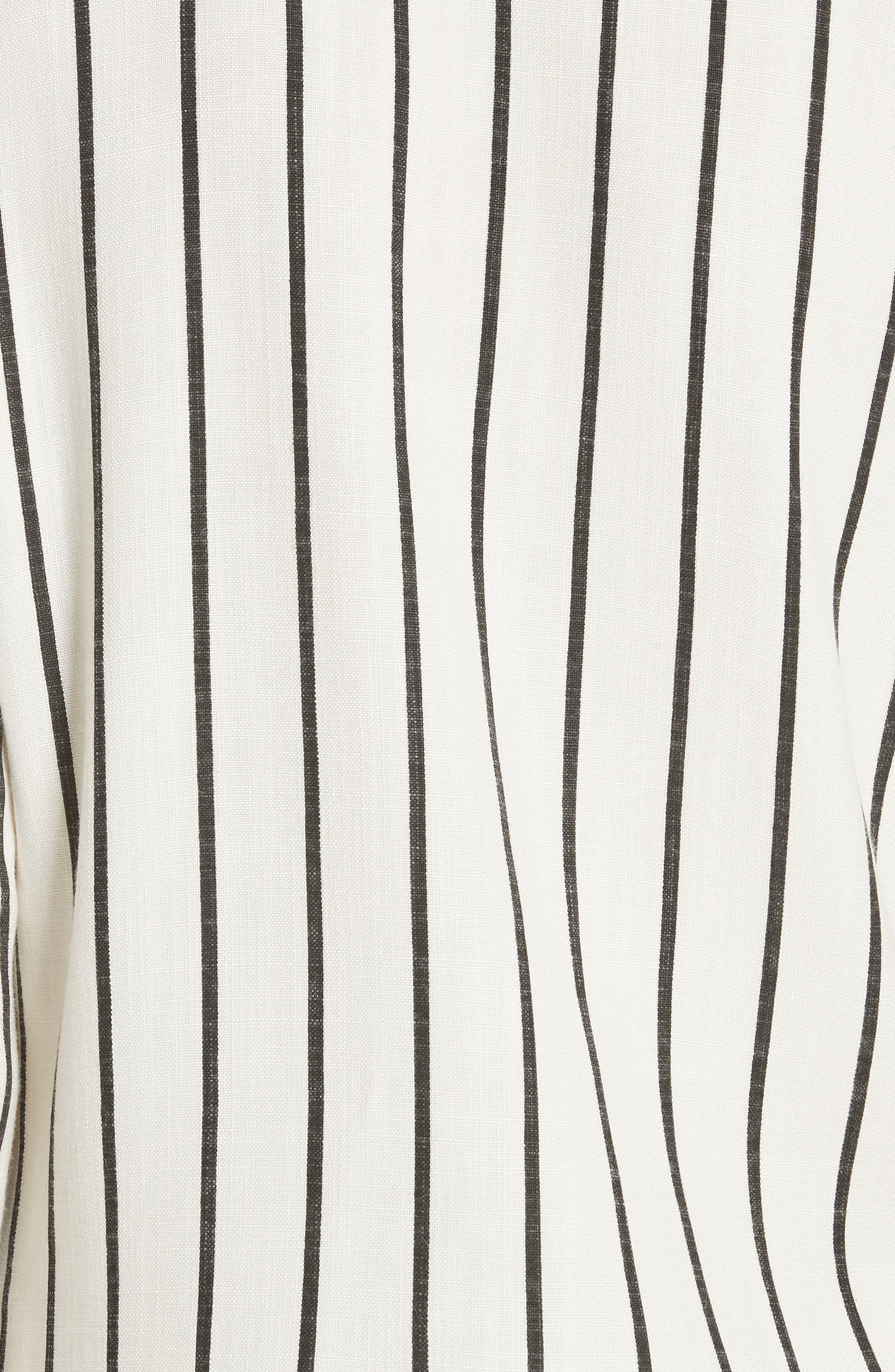 Tory Embellished Stripe Tunic,                             Alternate thumbnail 5, color,